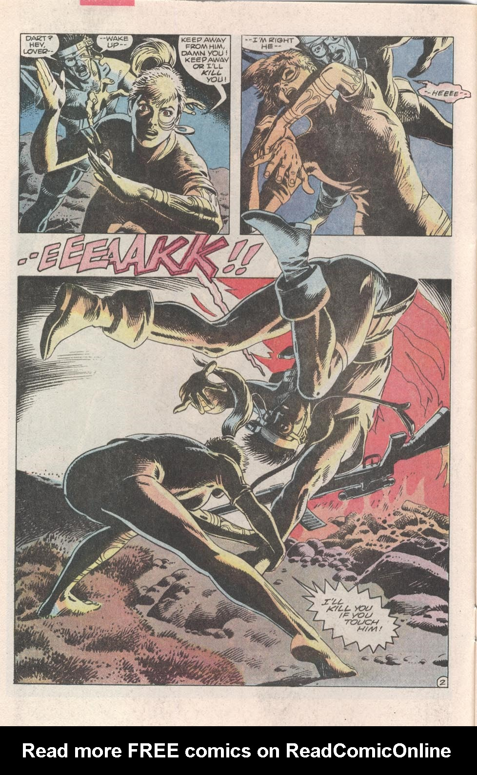 Read online Atari Force (1984) comic -  Issue #3 - 3
