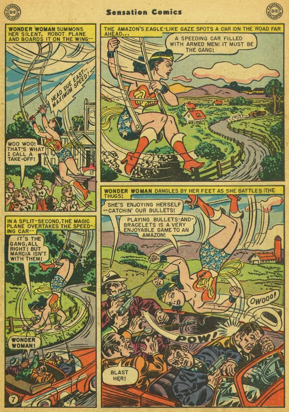 Read online Sensation (Mystery) Comics comic -  Issue #80 - 8