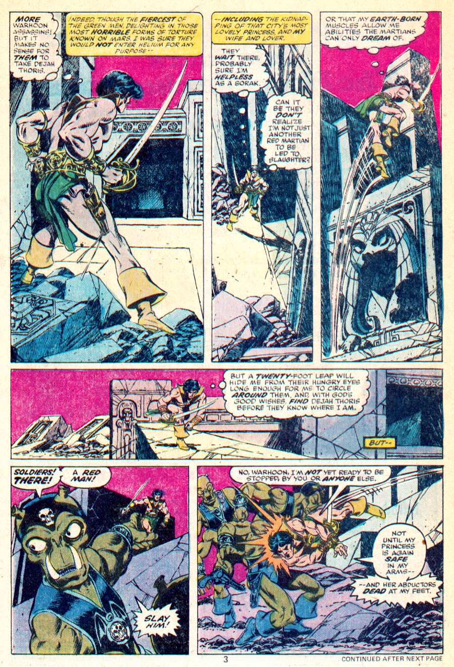 John Carter Warlord of Mars issue 1 - Page 4