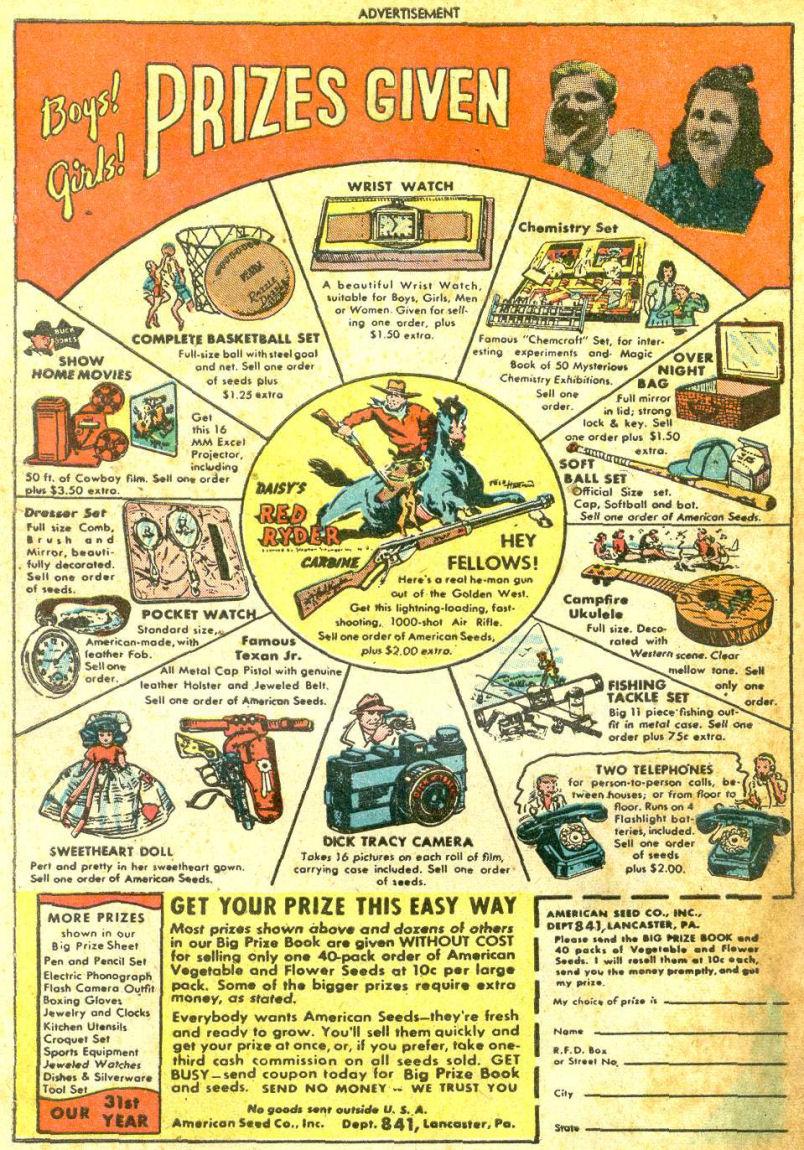 Read online Sensation (Mystery) Comics comic -  Issue #87 - 50