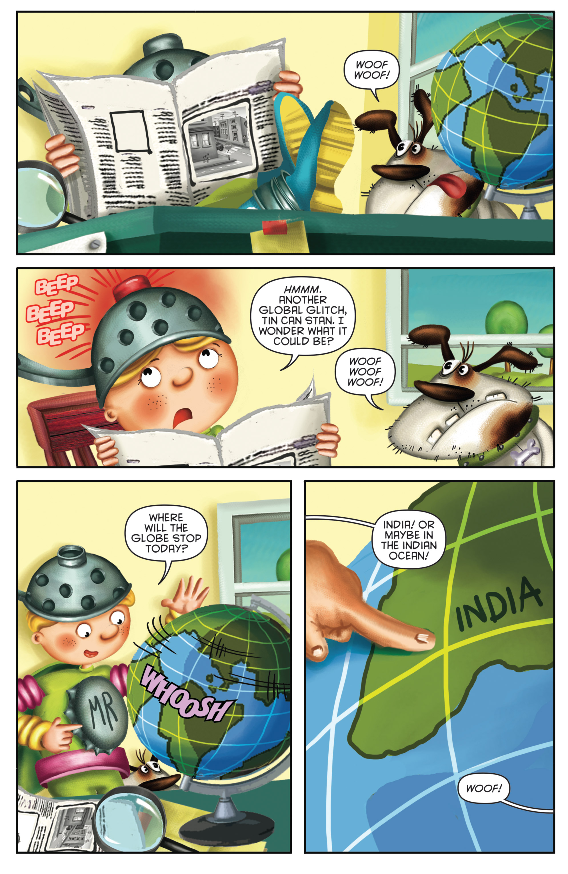 Read online Michael Recycle comic -  Issue #4 - 5