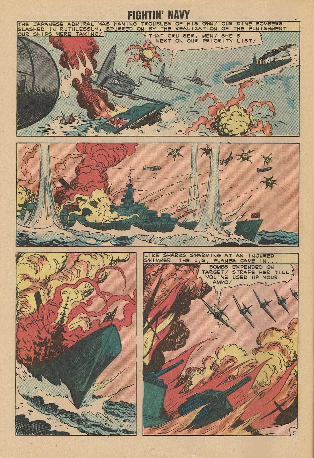 Read online Fightin' Navy comic -  Issue #101 - 8