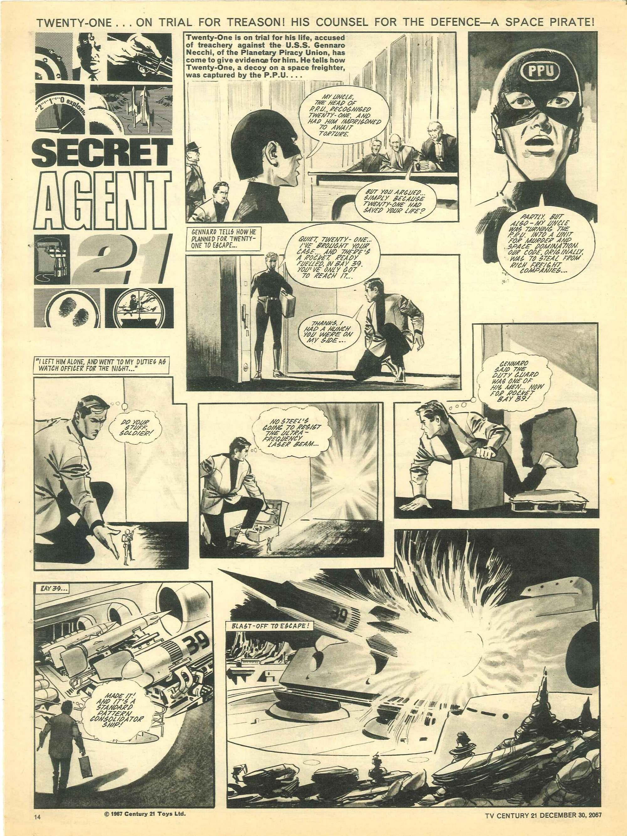 Read online TV Century 21 (TV 21) comic -  Issue #154 - 13