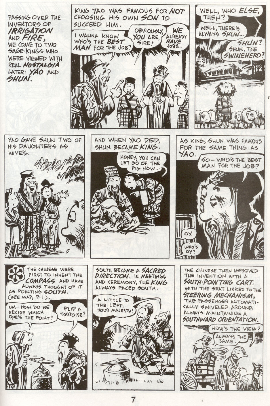 Read online The Cartoon History of the Universe comic -  Issue #9 - 10