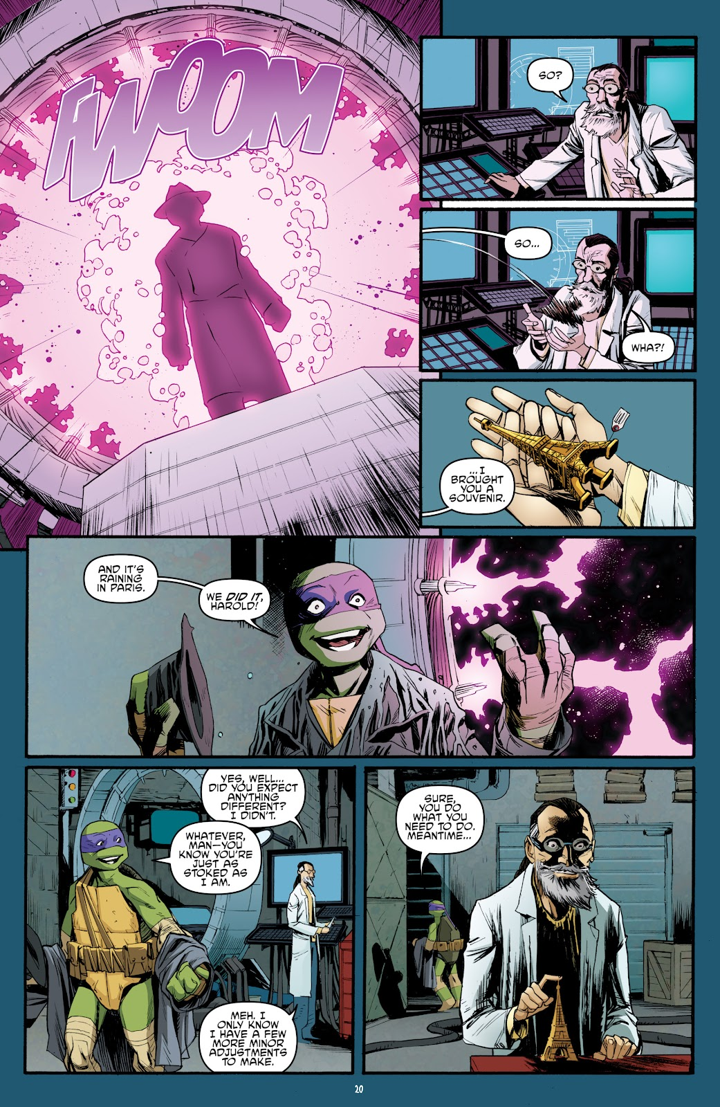 Read online Teenage Mutant Ninja Turtles: The IDW Collection comic -  Issue # TPB 5 (Part 3) - 79