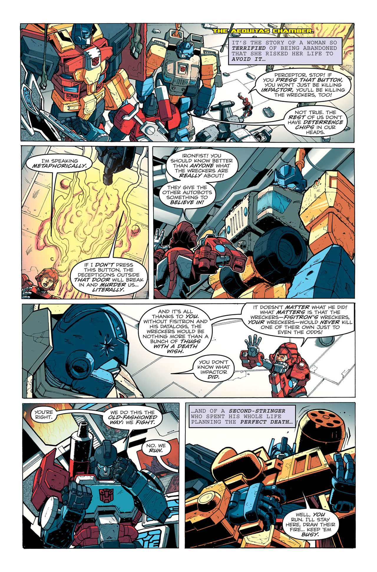Read online Transformers: Last Stand of The Wreckers comic -  Issue #5 - 6