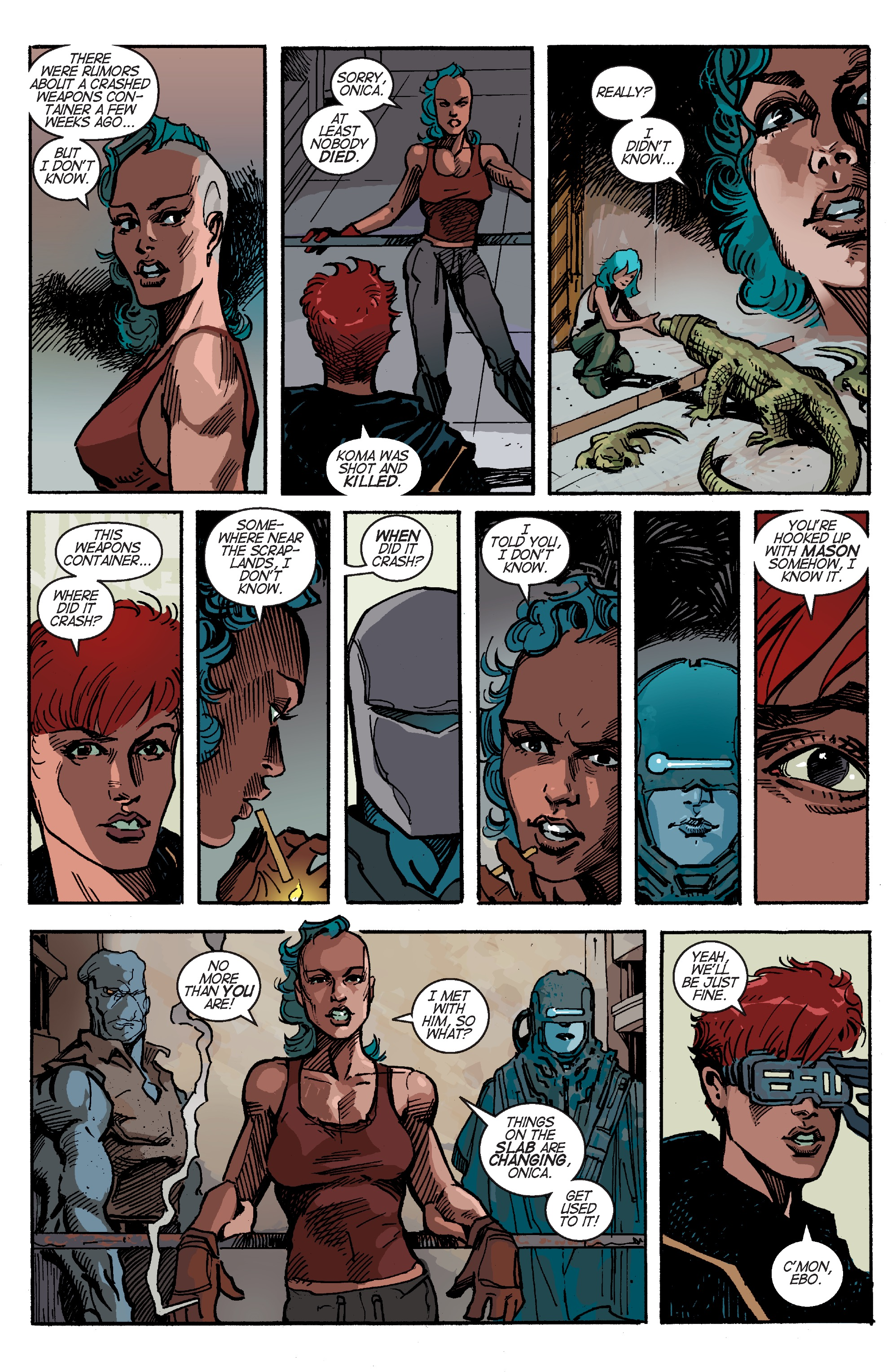 Read online Planetoid Praxis comic -  Issue #4 - 7