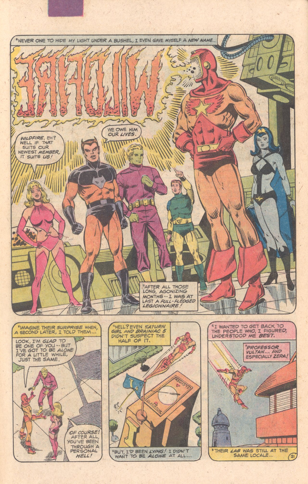 Legion of Super-Heroes (1980) 283 Page 22