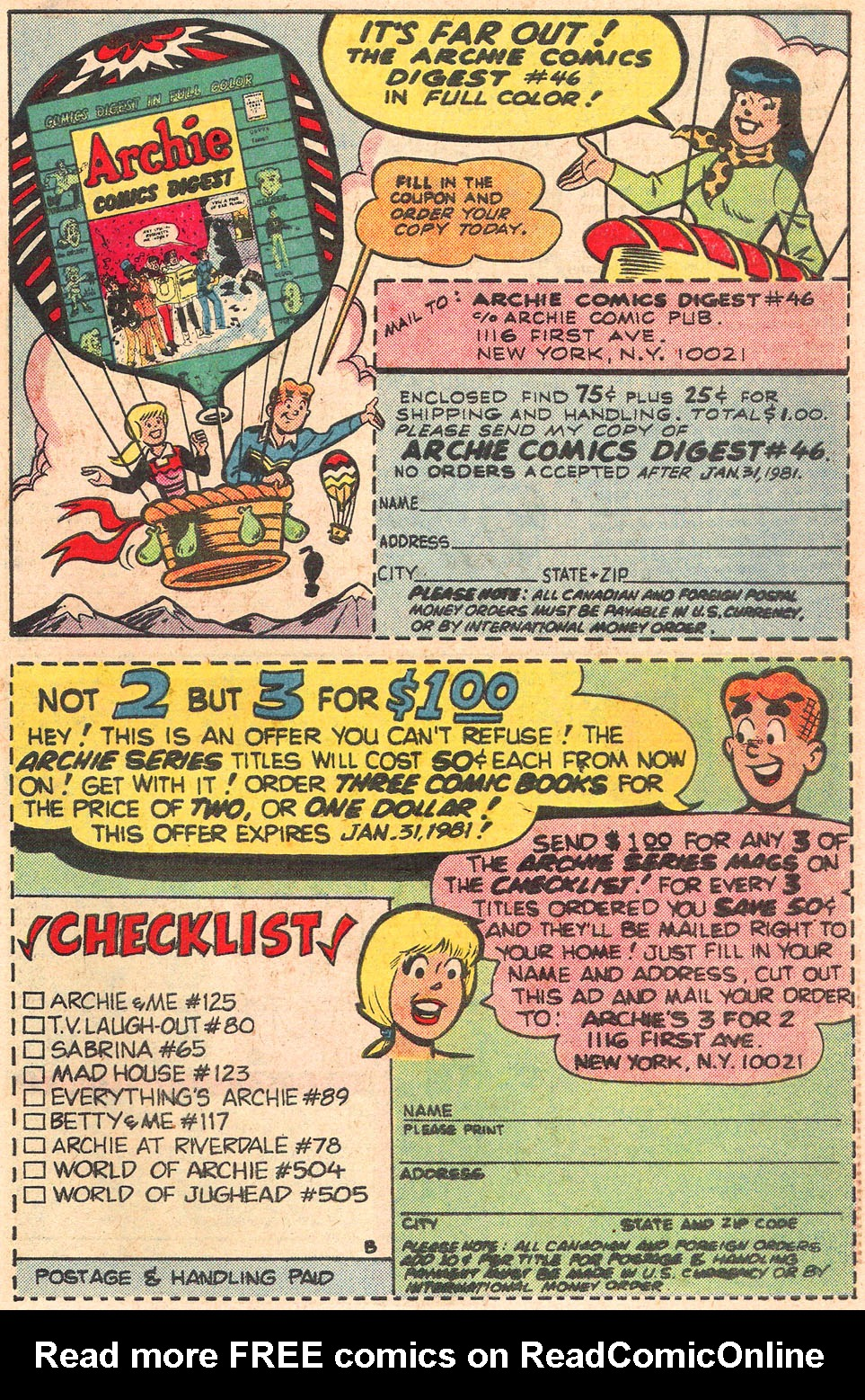 Read online Archie's Girls Betty and Veronica comic -  Issue #301 - 27