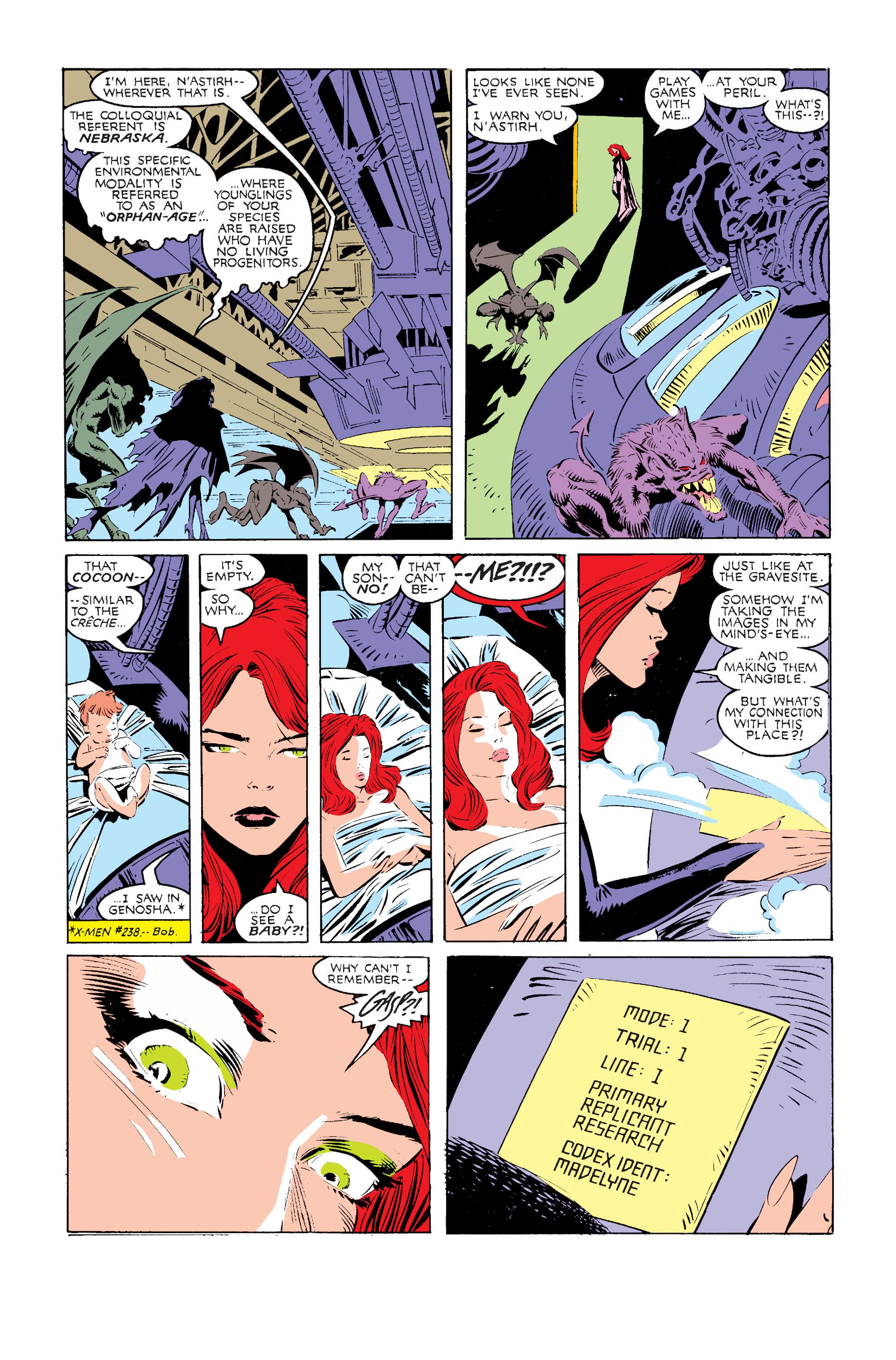 Read online Uncanny X-Men (1963) comic -  Issue #240 - 15