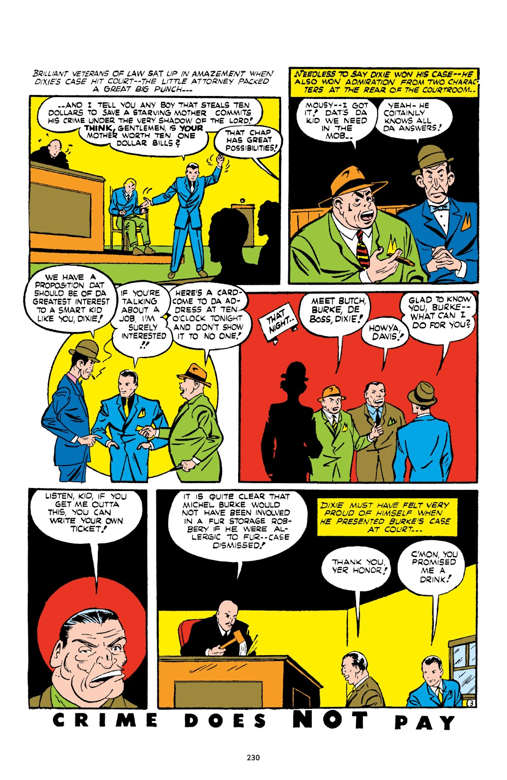 Read online Crime Does Not Pay Archives comic -  Issue # TPB 1 (Part 3) - 33