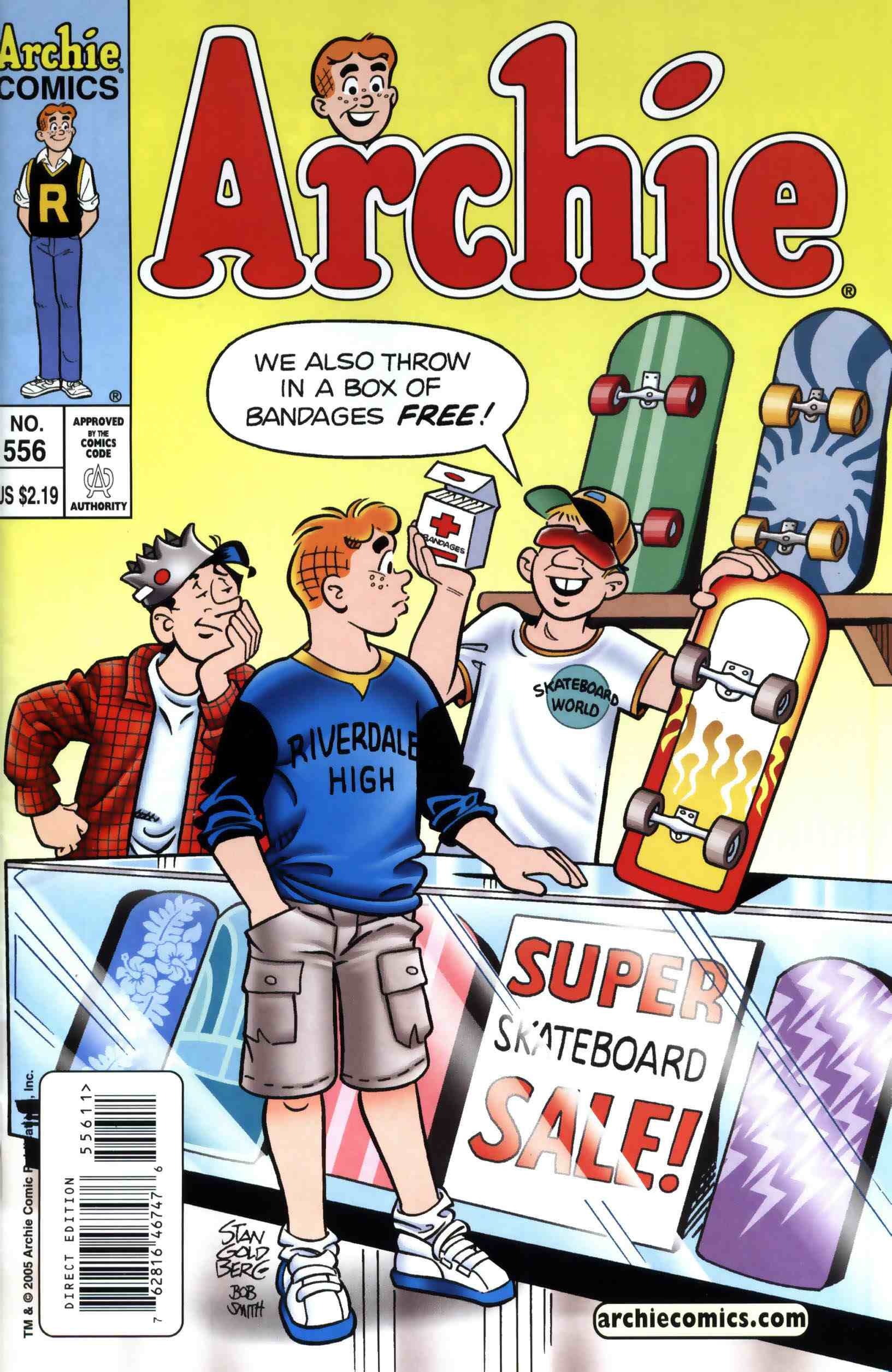 Read online Archie (1960) comic -  Issue #556 - 1