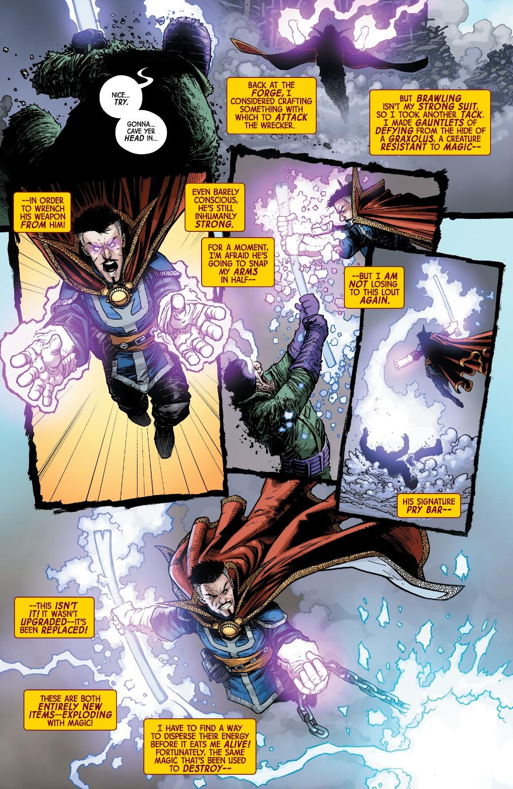 Read online Dr. Strange comic -  Issue #2 - 20