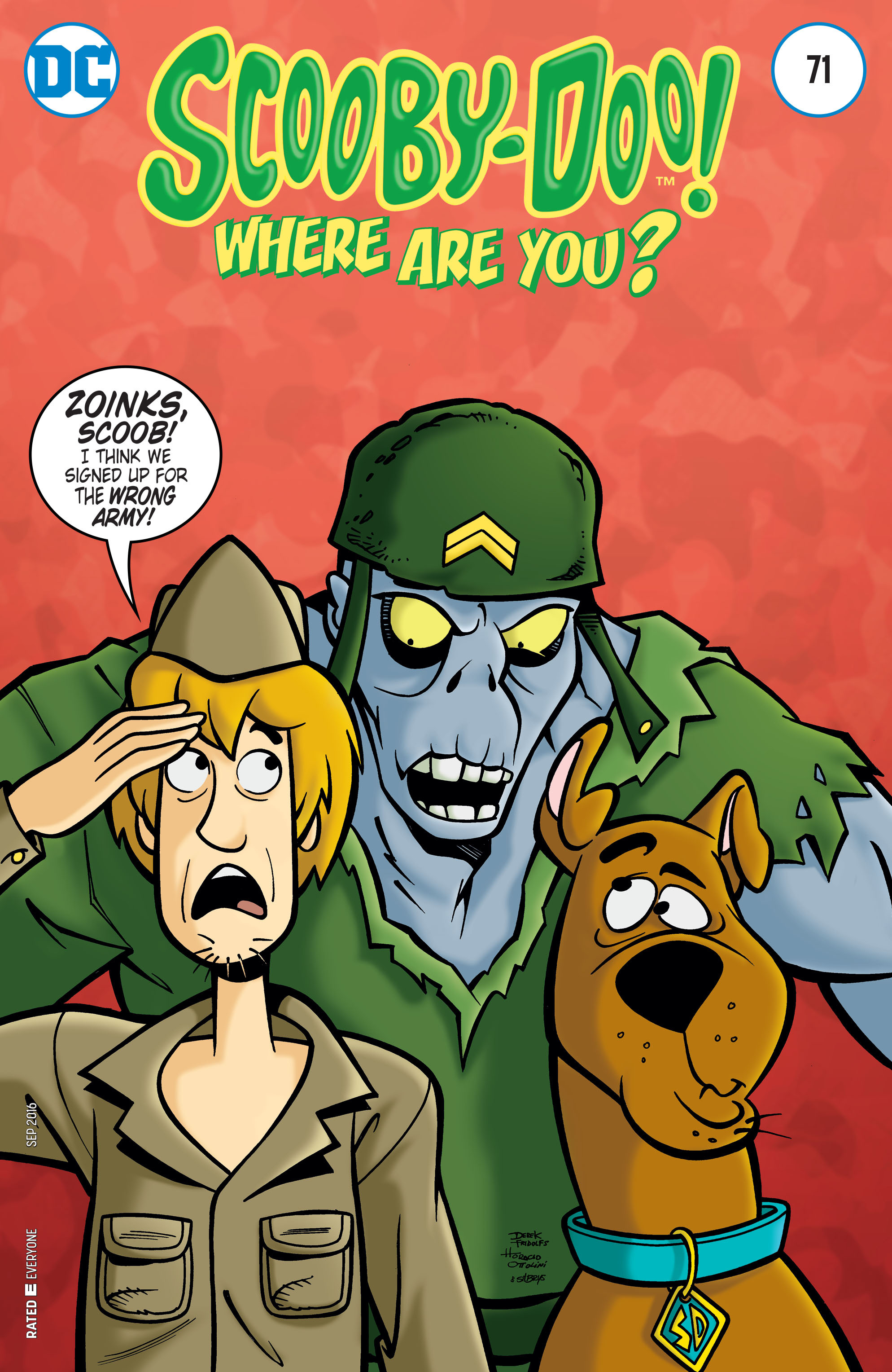 Read online Scooby-Doo: Where Are You? comic -  Issue #71 - 1