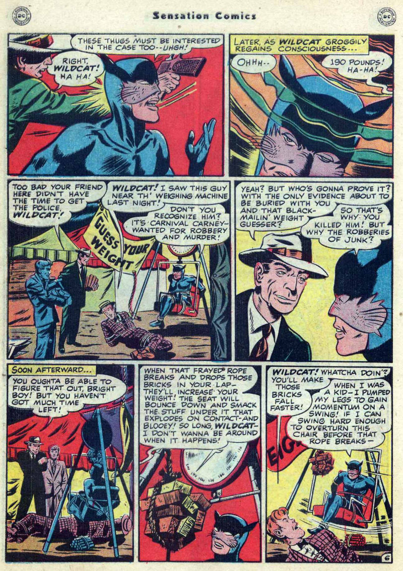 Read online Sensation (Mystery) Comics comic -  Issue #82 - 48