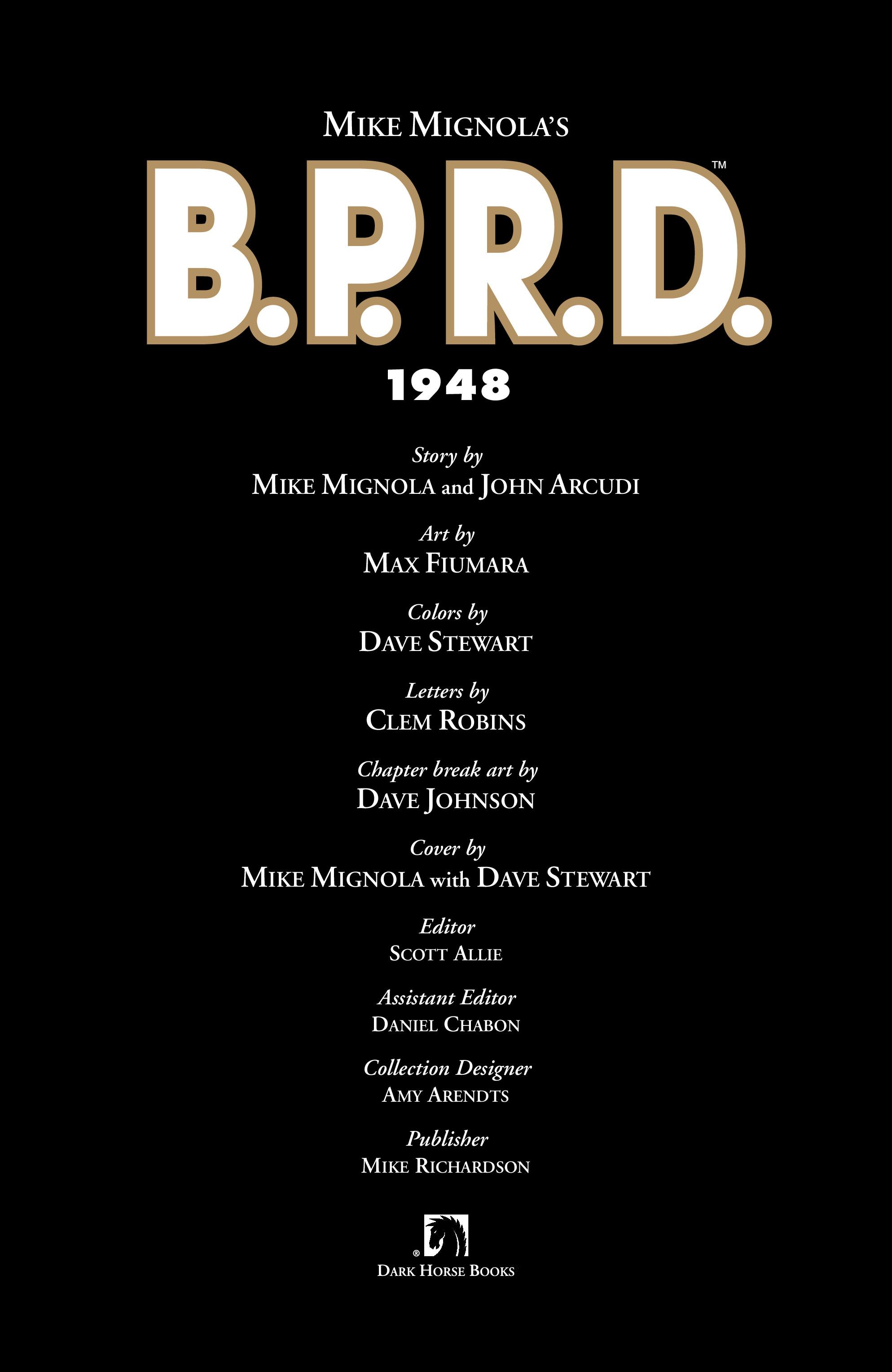 Read online B.P.R.D.: 1948 comic -  Issue # TPB - 5