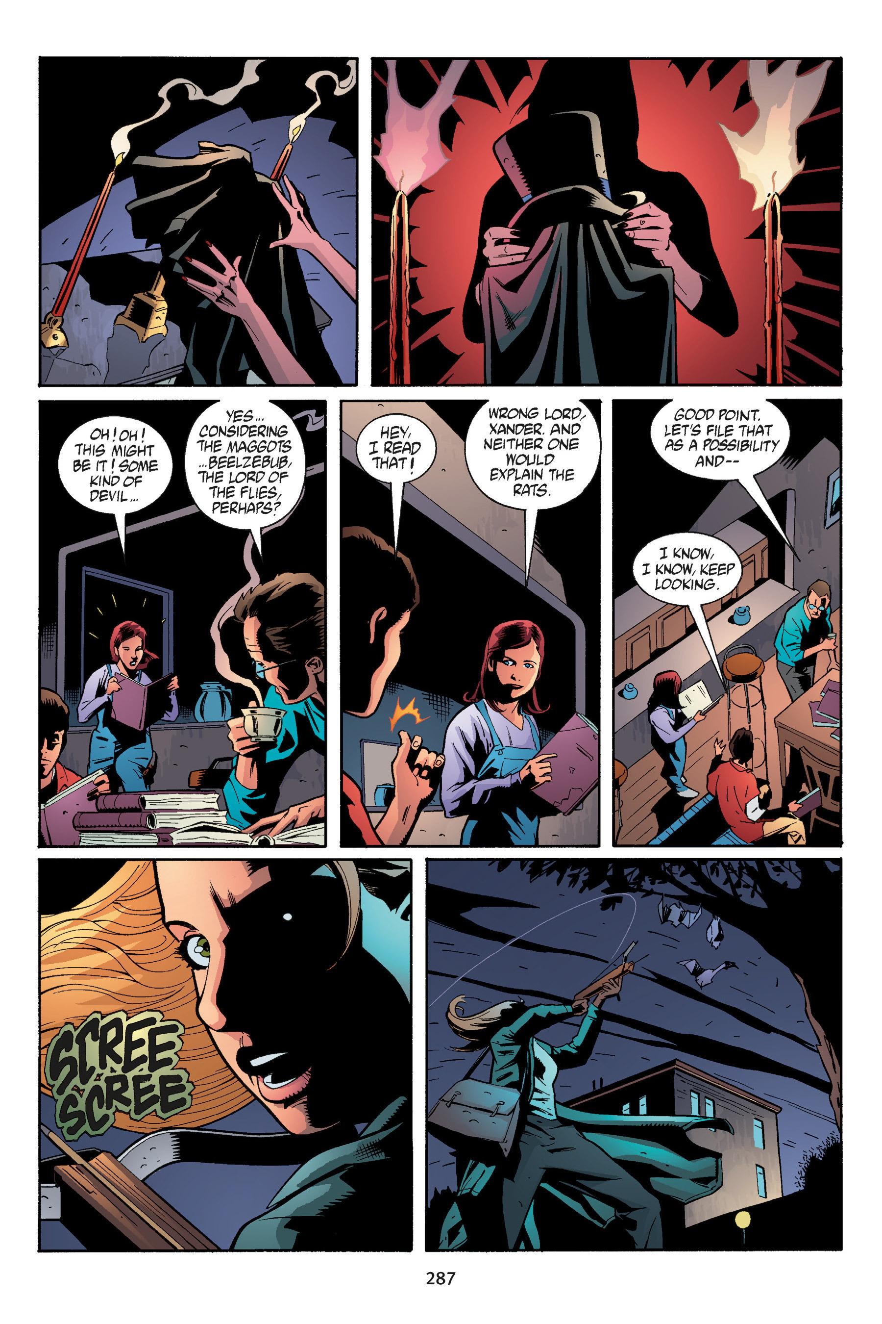 Read online Buffy the Vampire Slayer: Omnibus comic -  Issue # TPB 5 - 286