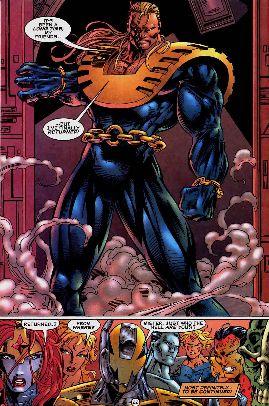 Read online UltraForce (1995) comic -  Issue #13 - 23