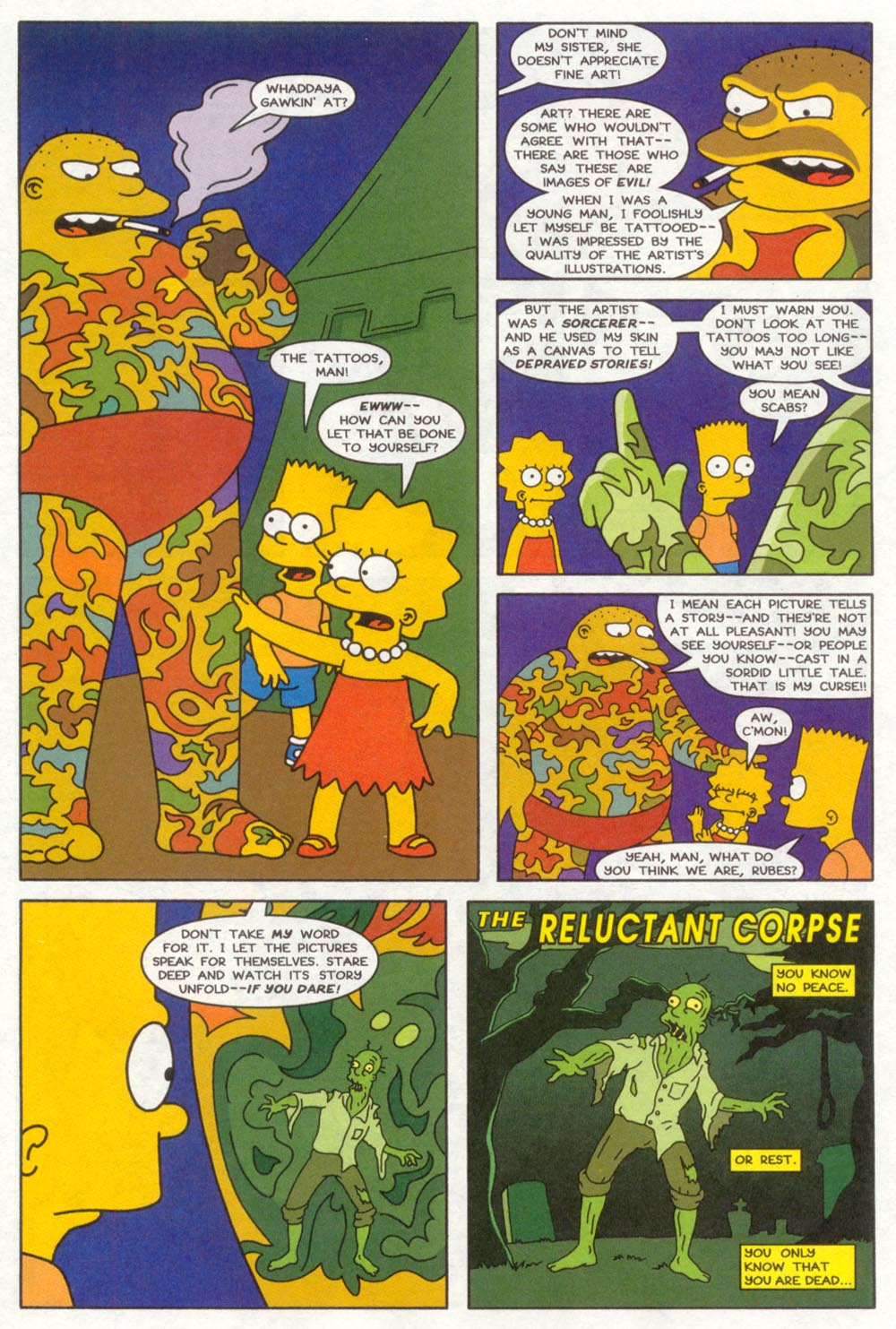 Read online Treehouse of Horror comic -  Issue #4 - 16