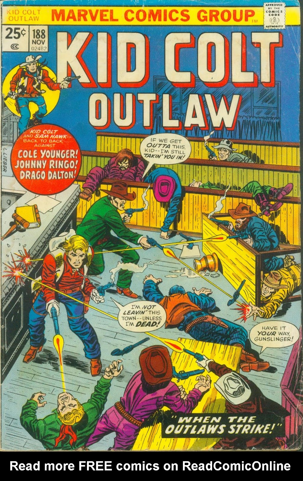 Kid Colt Outlaw issue 188 - Page 1