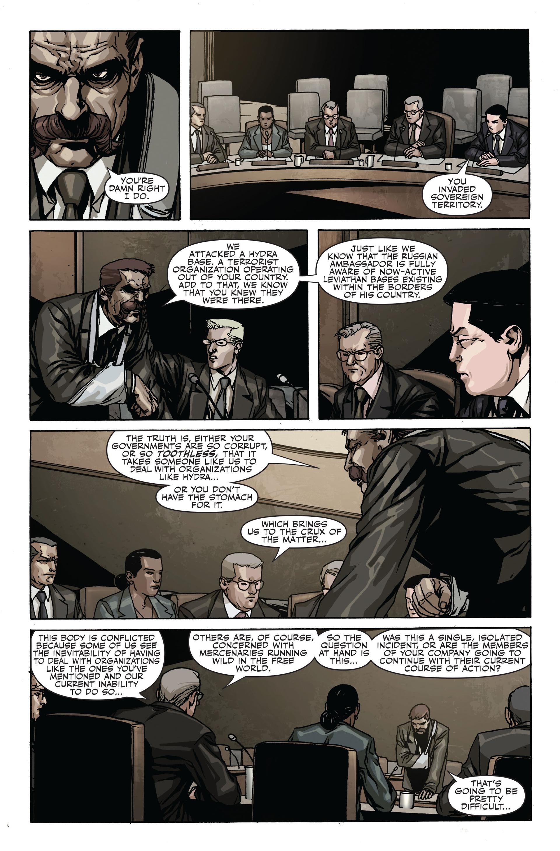 Read online Secret Warriors comic -  Issue #17 - 24