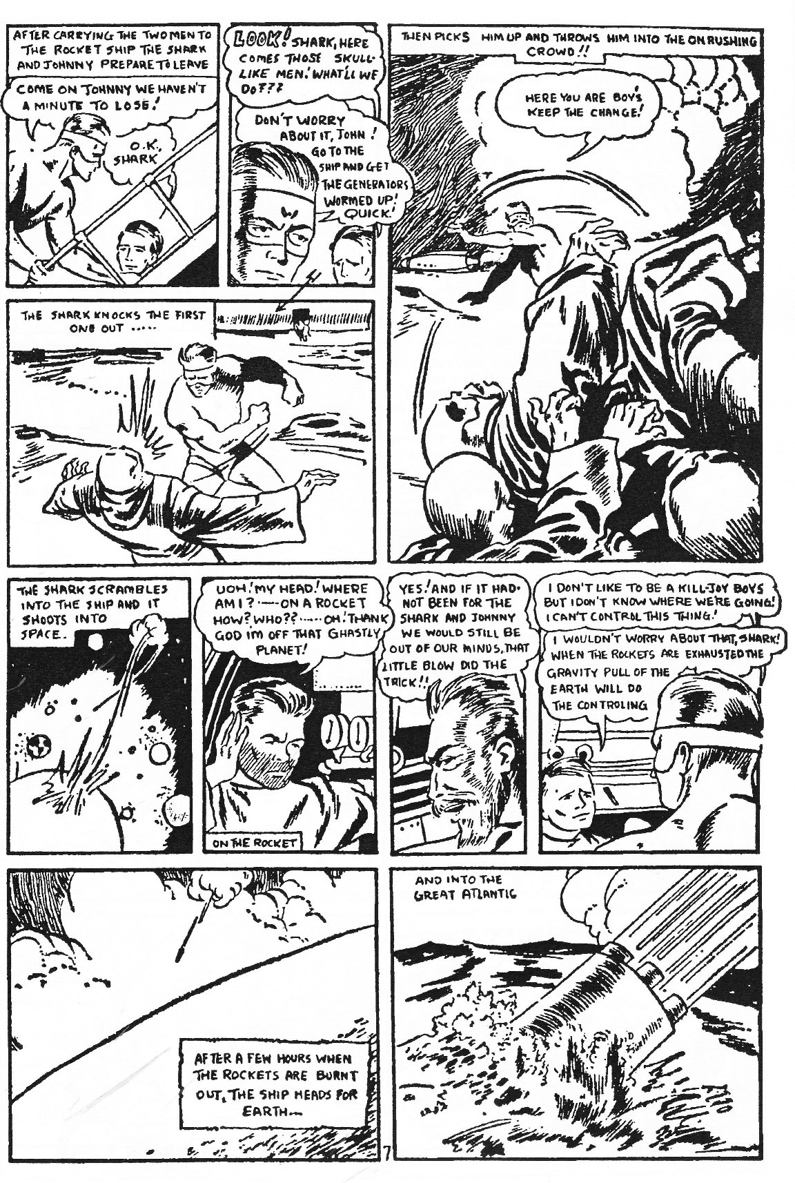 Read online Men of Mystery Comics comic -  Issue #83 - 54