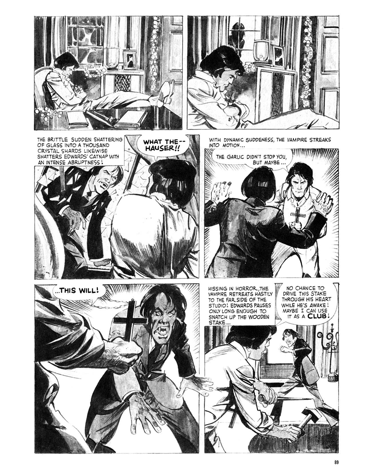 Read online Eerie Archives comic -  Issue # TPB 8 - 90