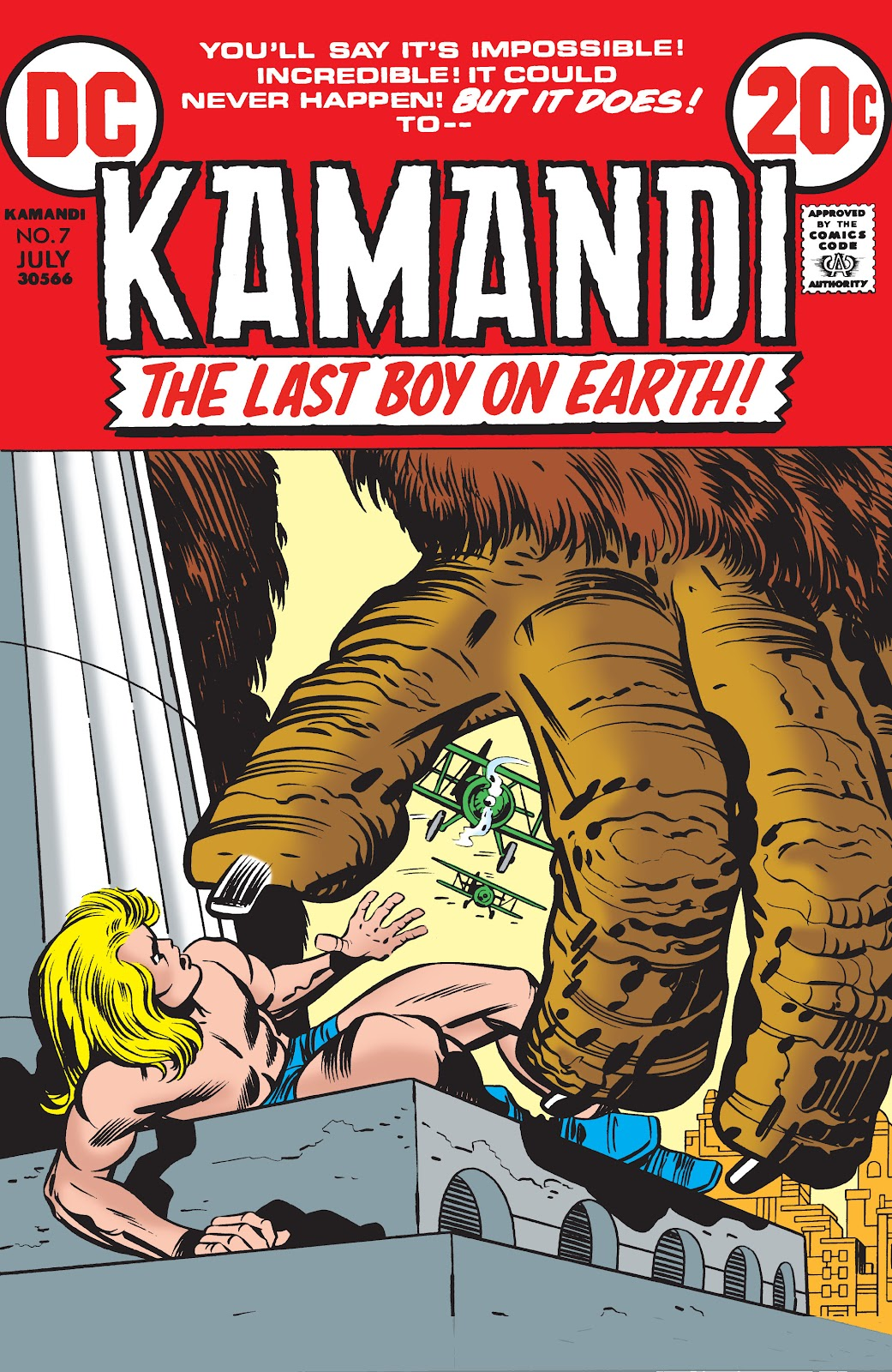 Kamandi, The Last Boy On Earth issue 7 - Page 1