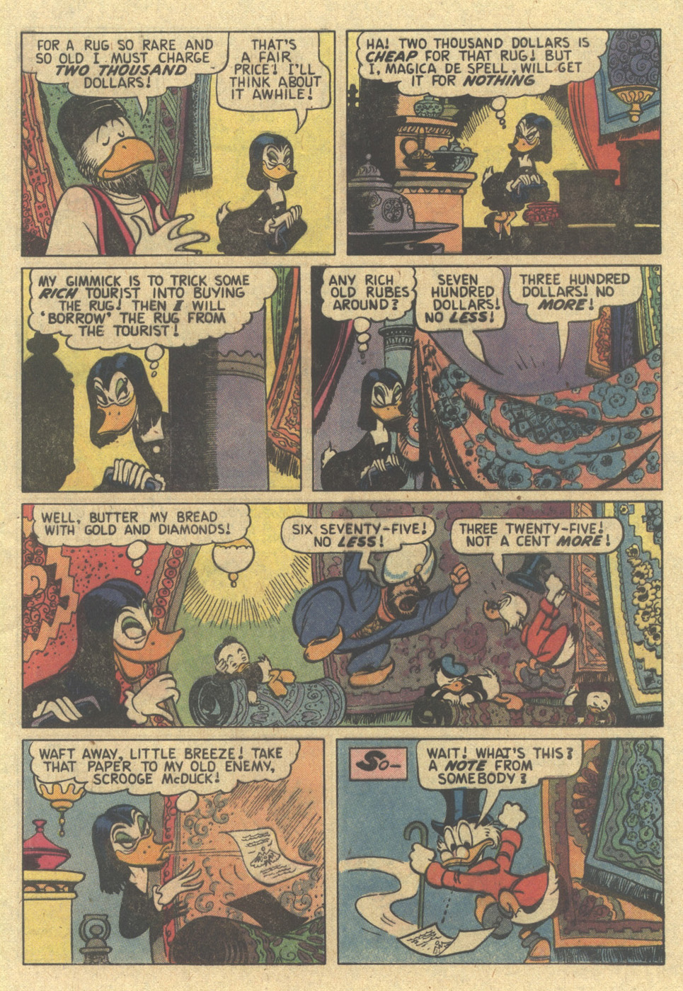Read online Uncle Scrooge (1953) comic -  Issue #187 - 5