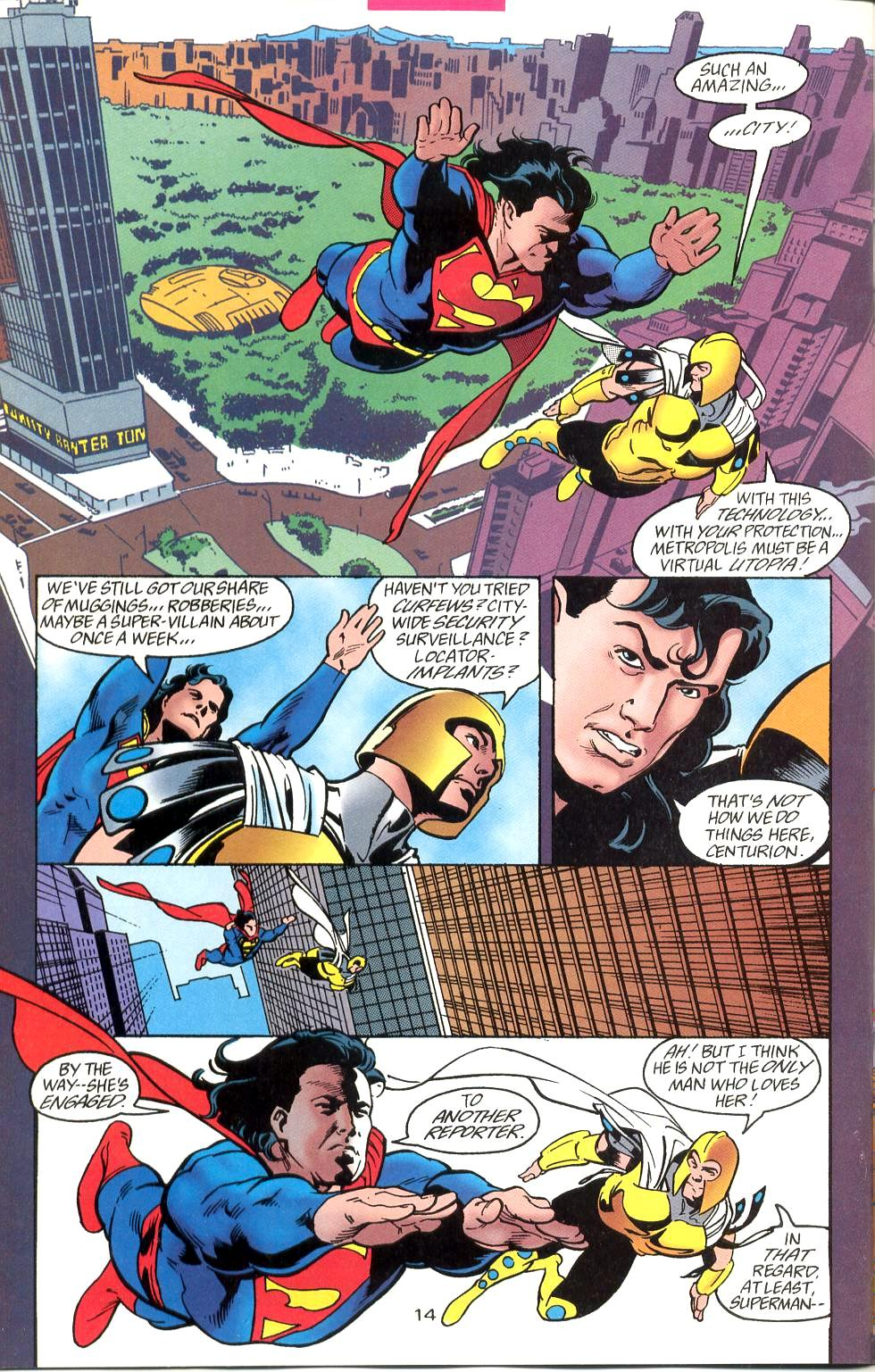 Read online Adventures of Superman (1987) comic -  Issue #527 - 15