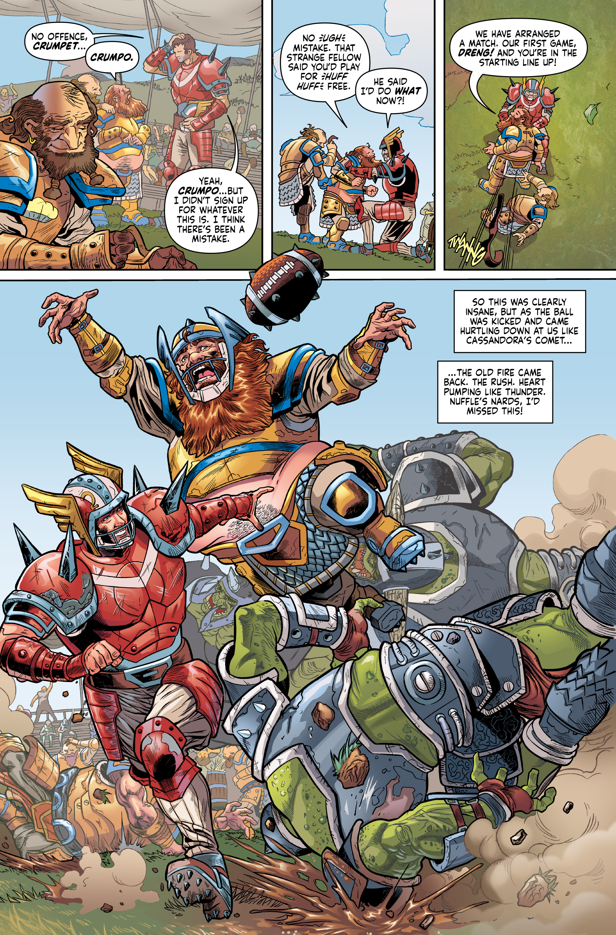 Read online Blood Bowl: More Guts, More Glory! comic -  Issue #1 - 14