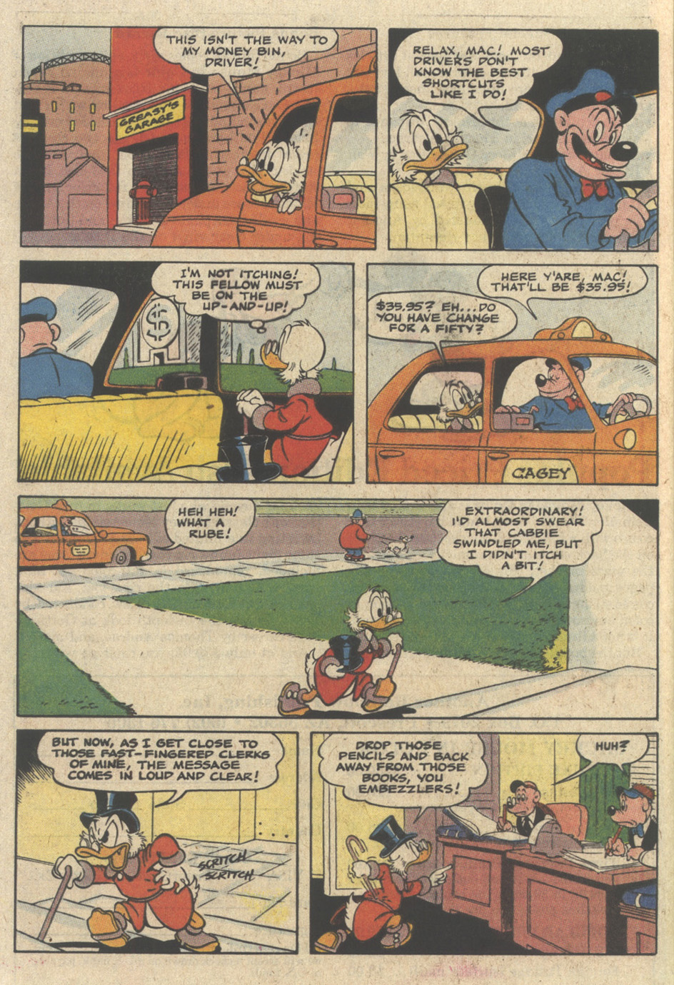 Read online Uncle Scrooge (1953) comic -  Issue #235 - 28