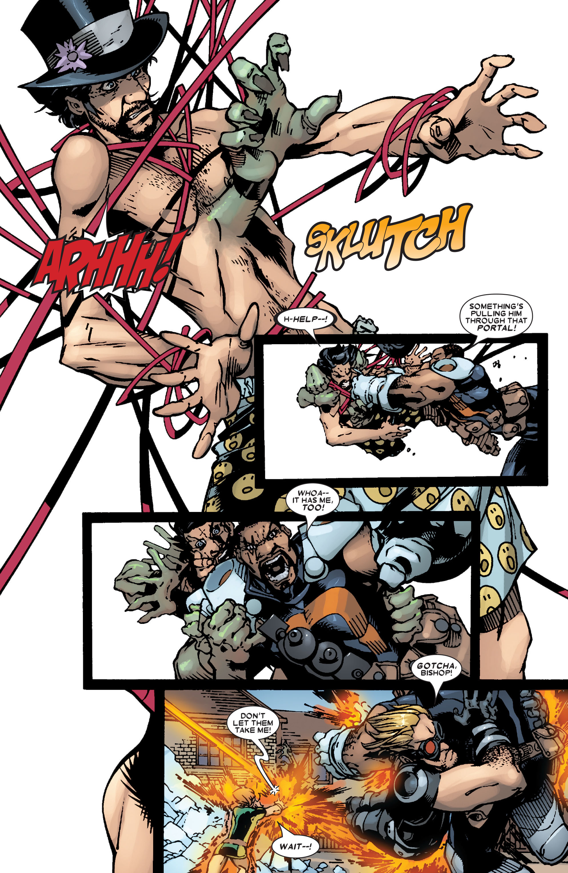 Read online Uncanny X-Men (1963) comic -  Issue #472 - 21