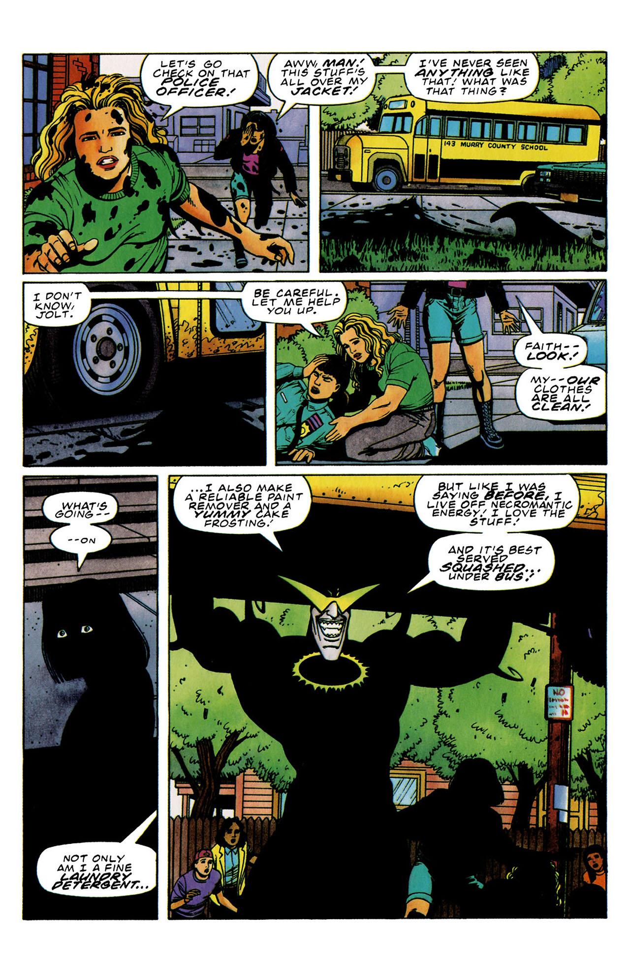 Read online Harbinger (1992) comic -  Issue #33 - 11