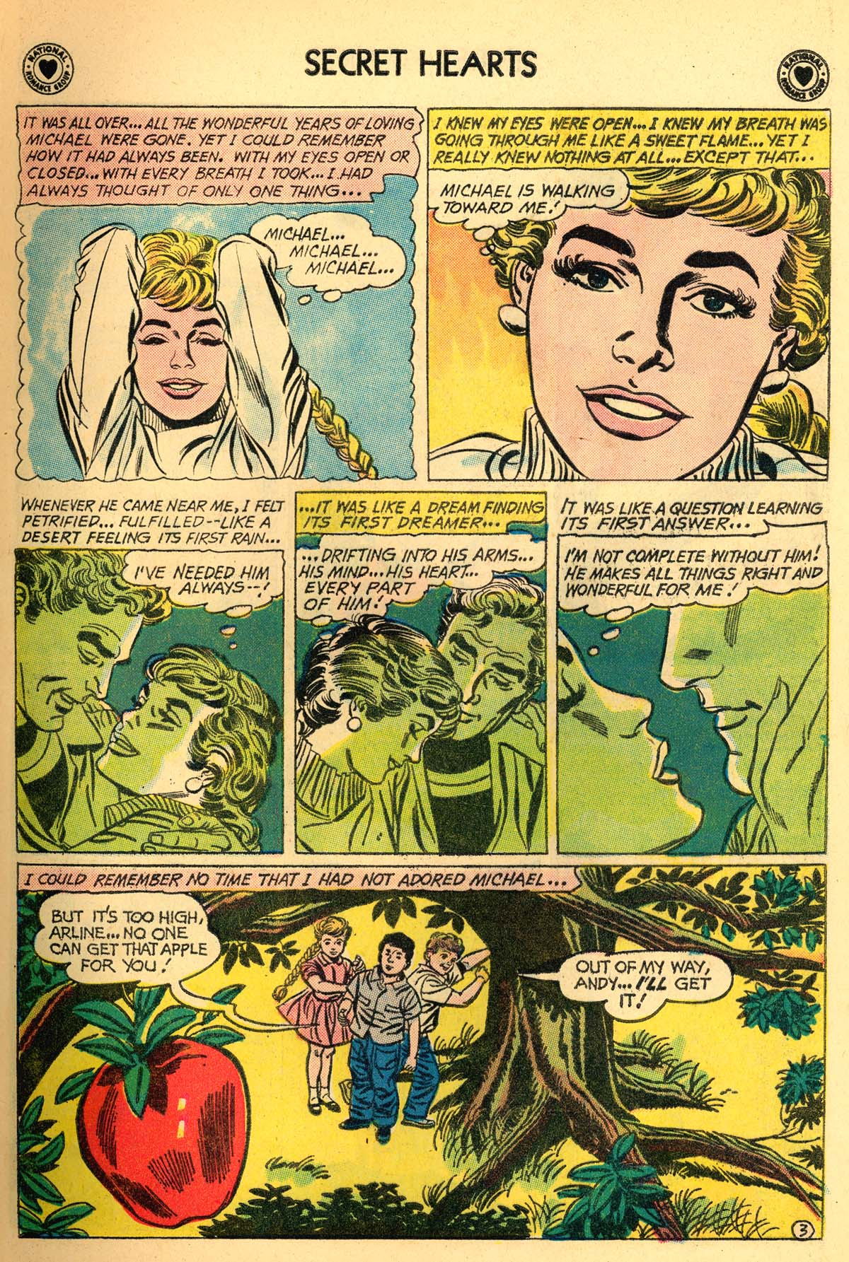 Read online Secret Hearts comic -  Issue #66 - 5