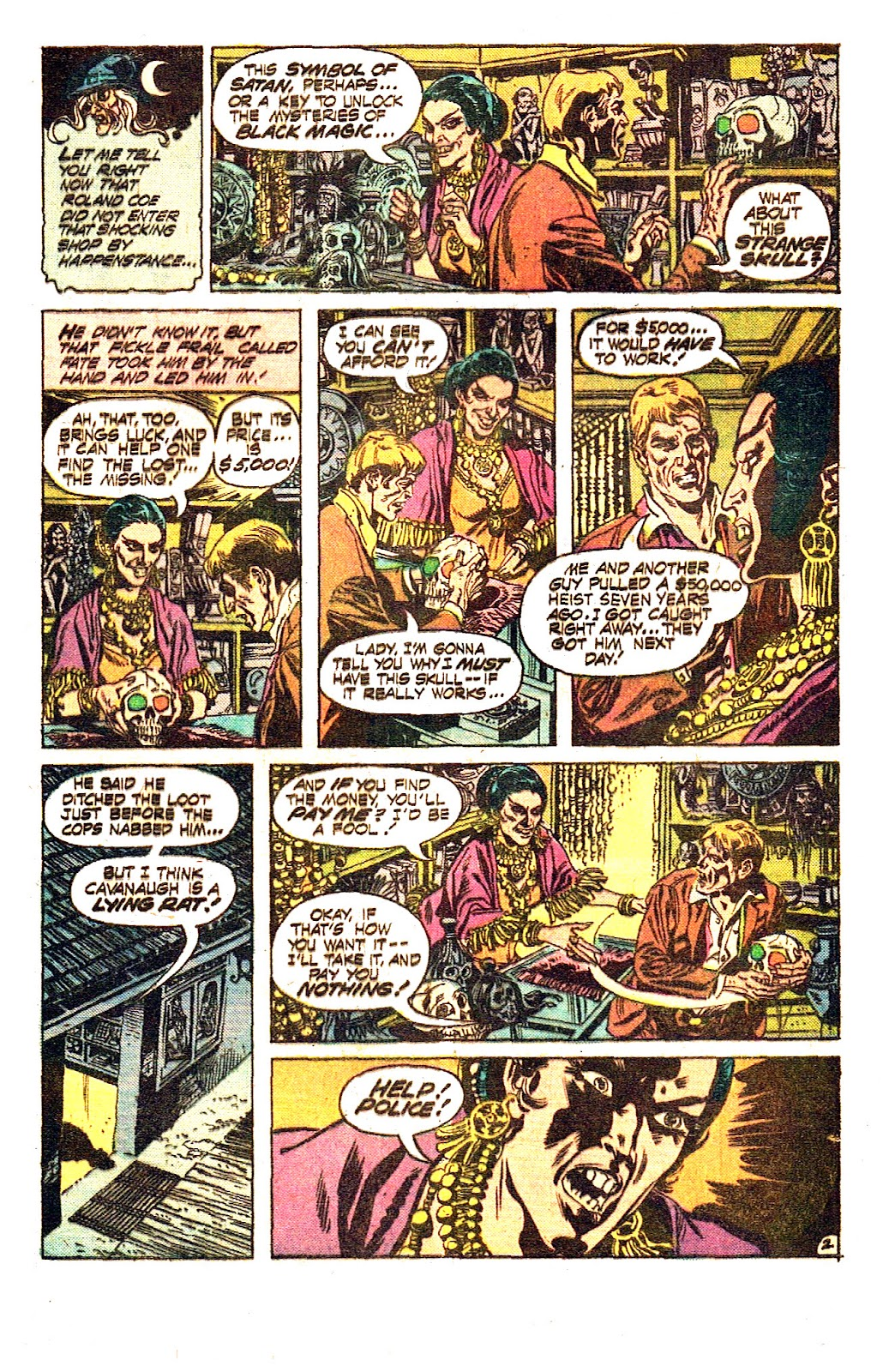 The Witching Hour (1969) issue 50 - Page 5