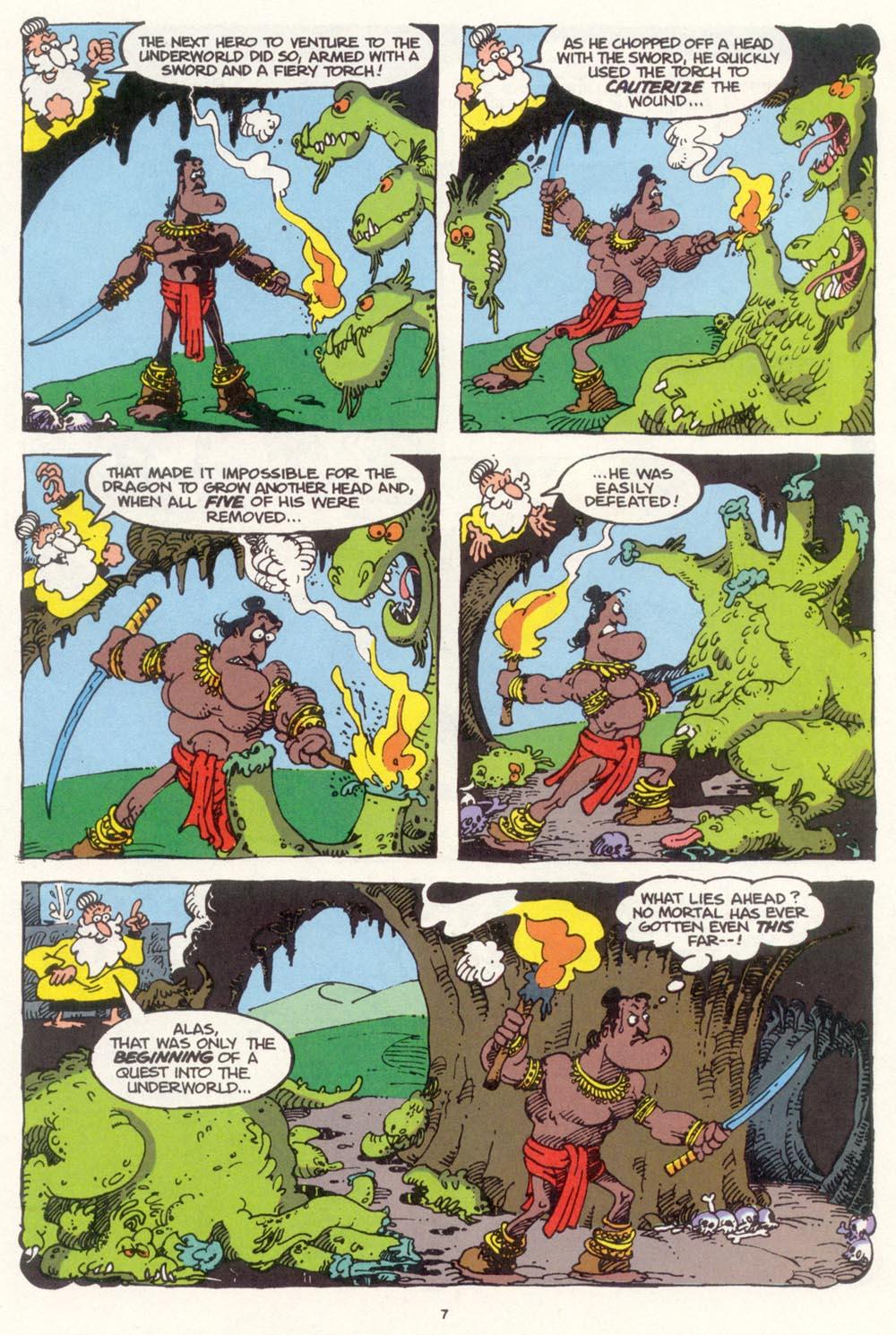 Read online Sergio Aragonés Groo the Wanderer comic -  Issue #99 - 8
