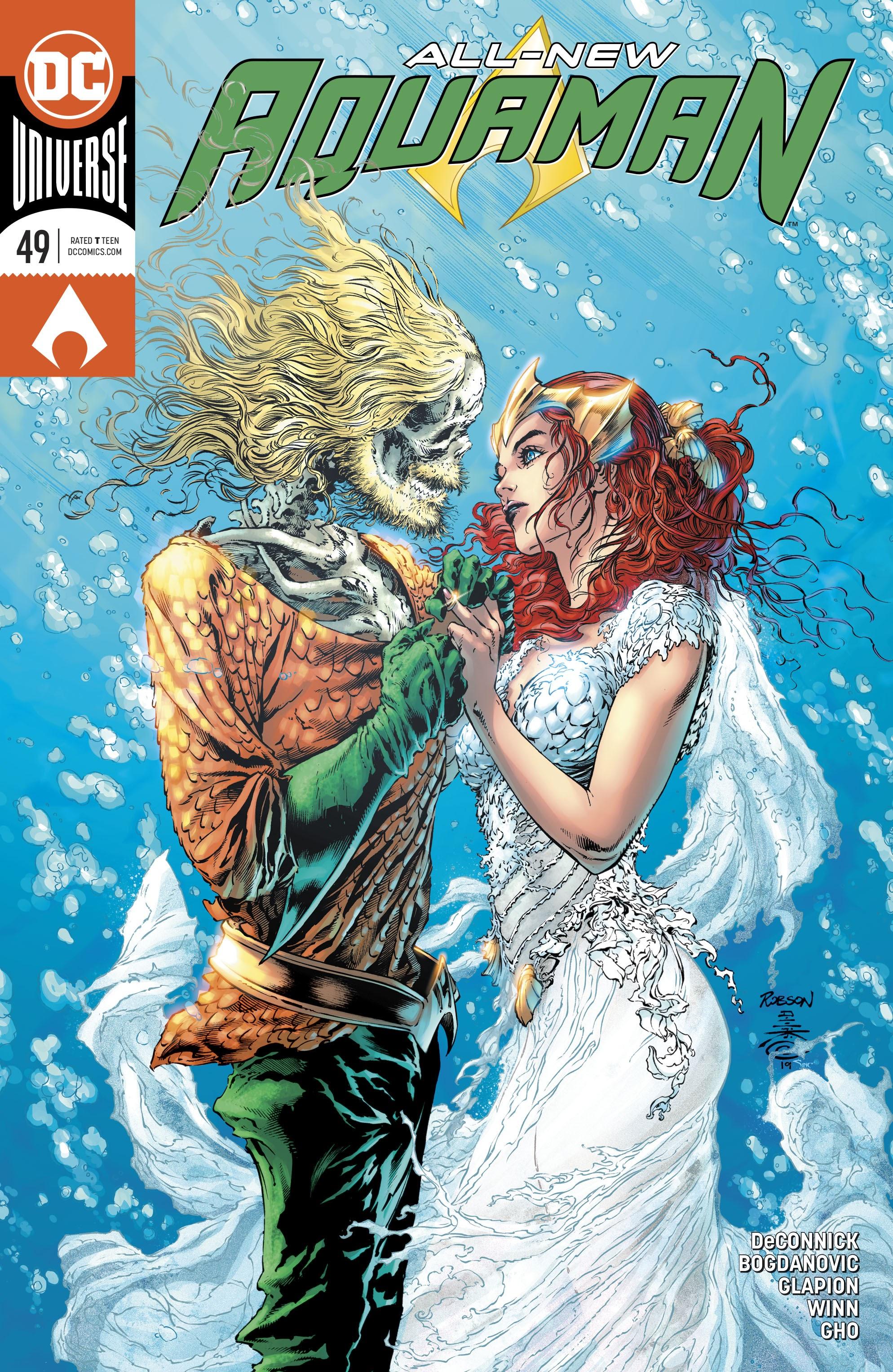 Aquaman (2016) 49 Page 1