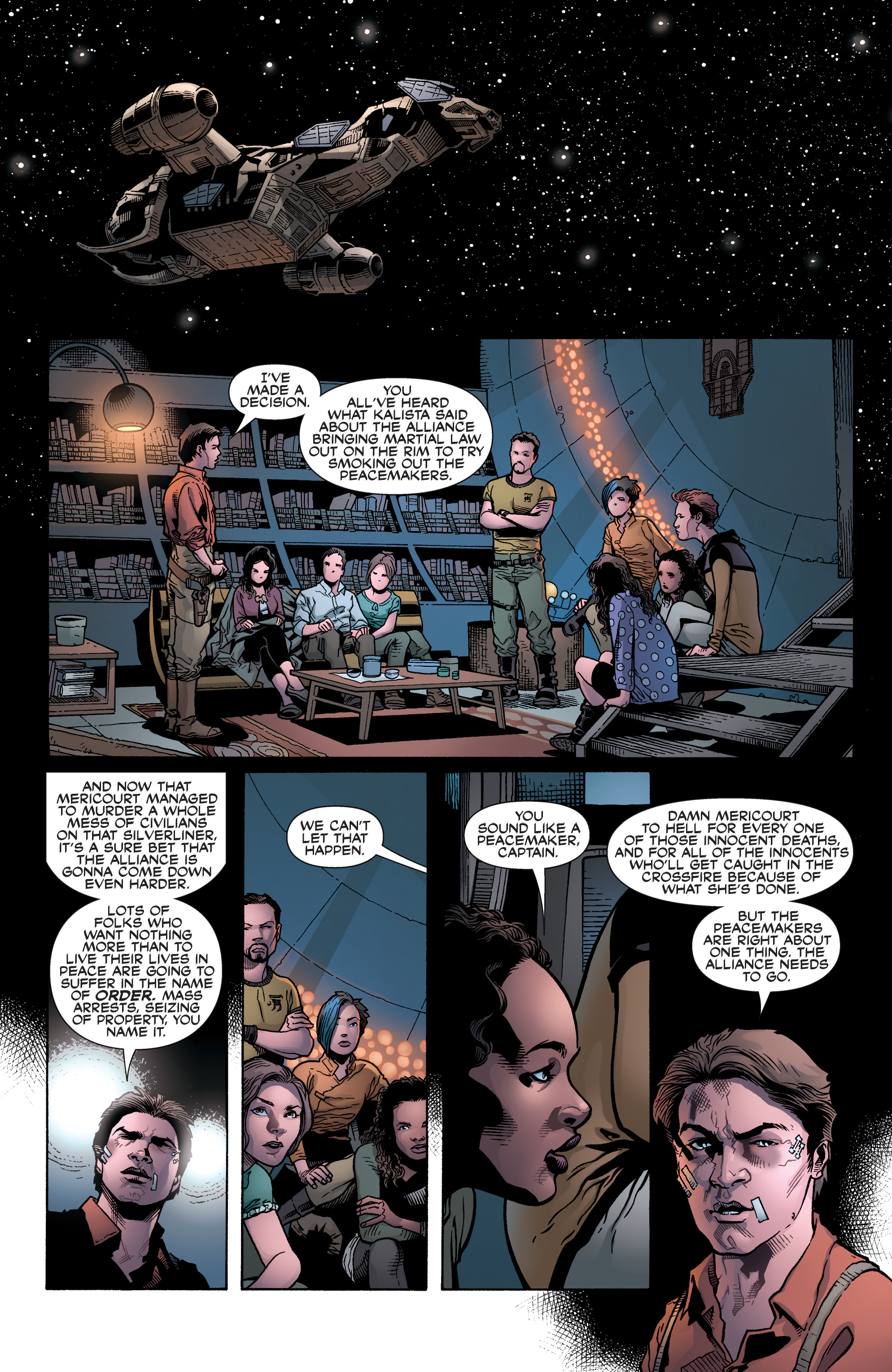 Read online Serenity: Firefly Class 03-K64 – No Power in the 'Verse comic -  Issue #6 - 23