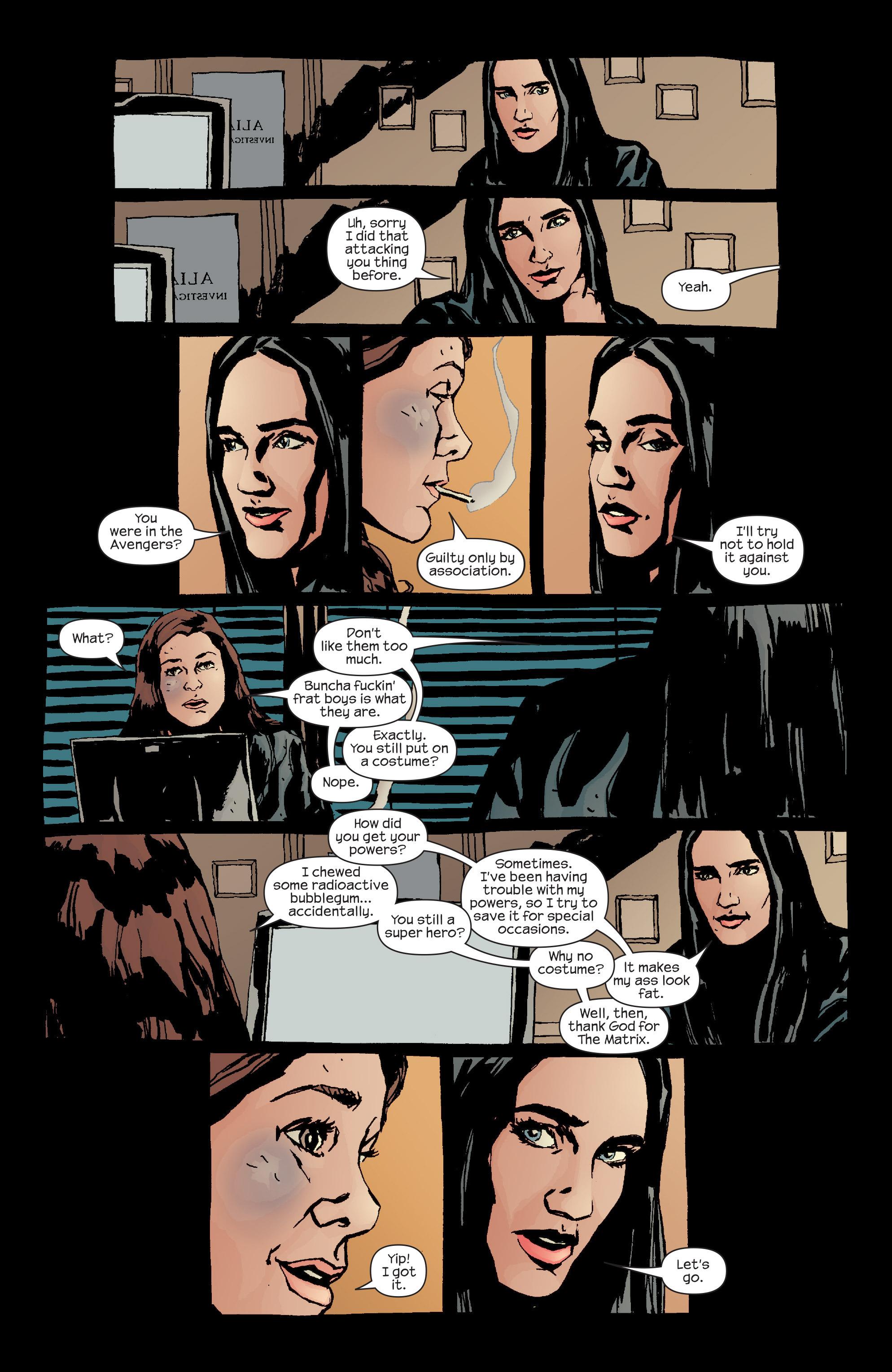 Read online Alias comic -  Issue #20 - 12
