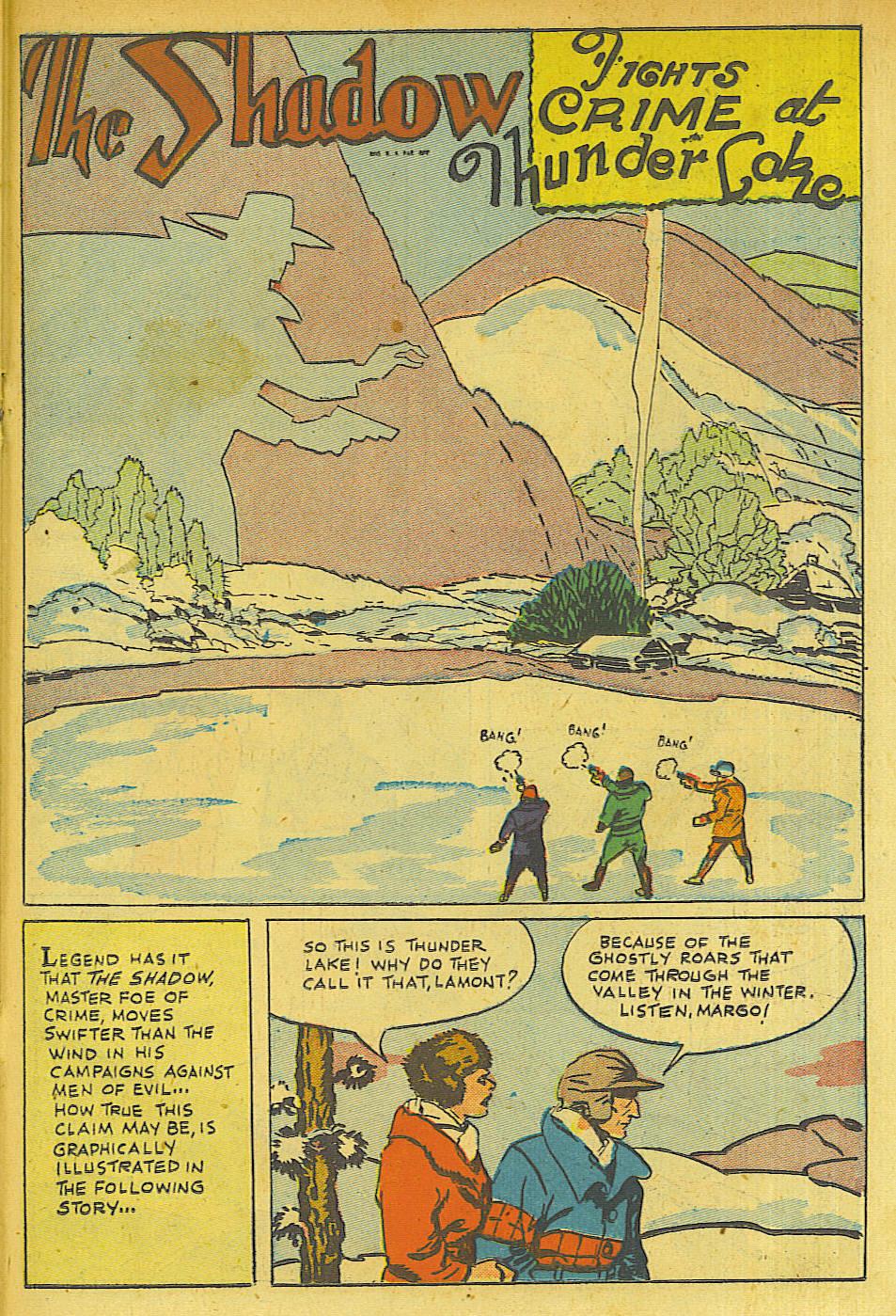 Read online Shadow Comics comic -  Issue #63 - 27