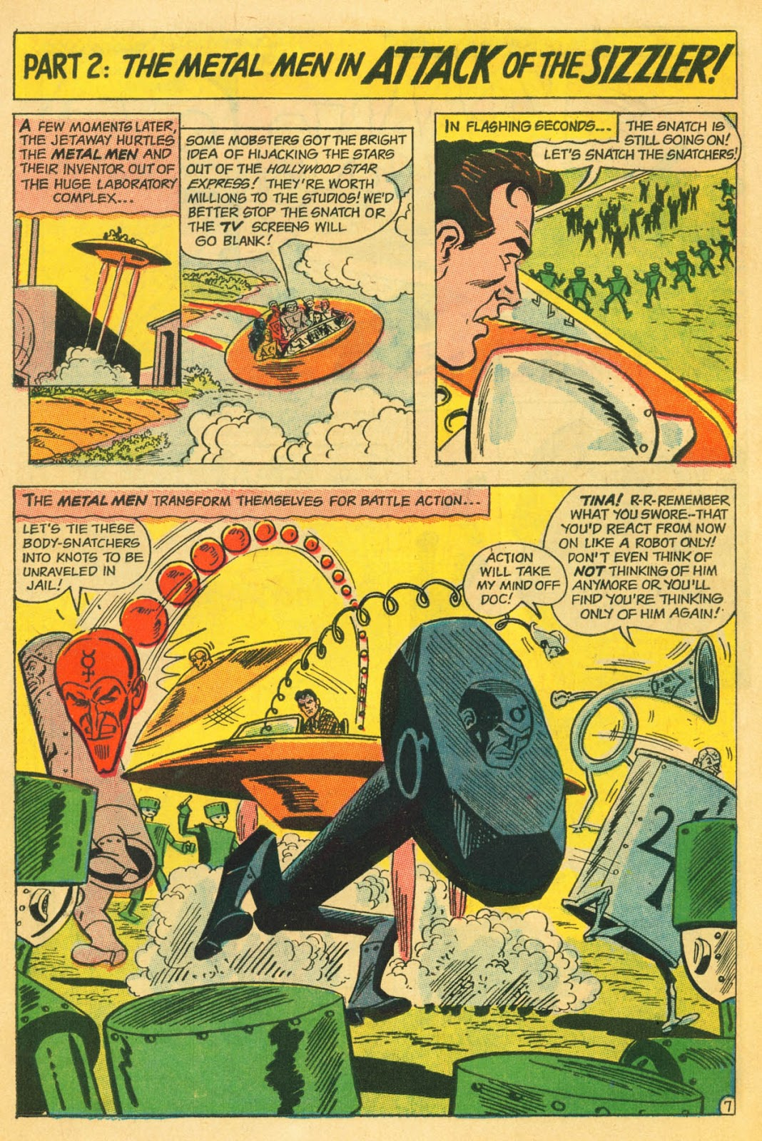 Metal Men (1963) issue 22 - Page 11