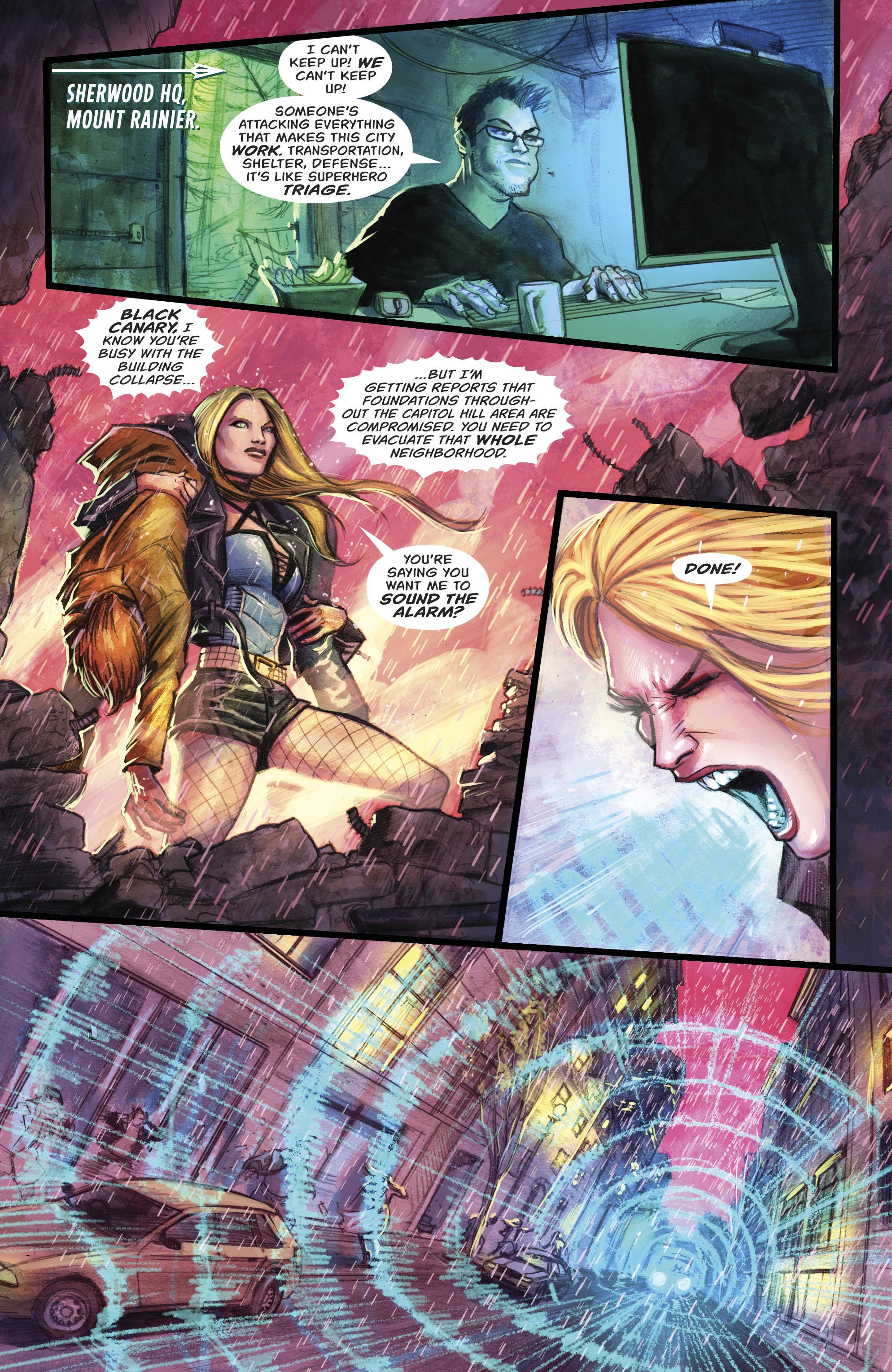 Read online Green Arrow (2016) comic -  Issue #22 - 6