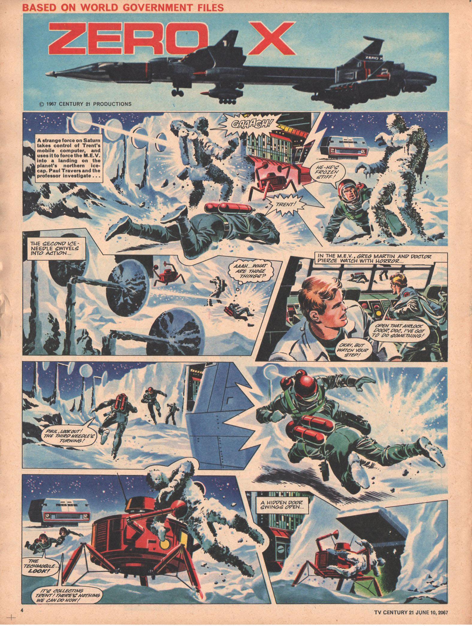 Read online TV Century 21 (TV 21) comic -  Issue #125 - 4