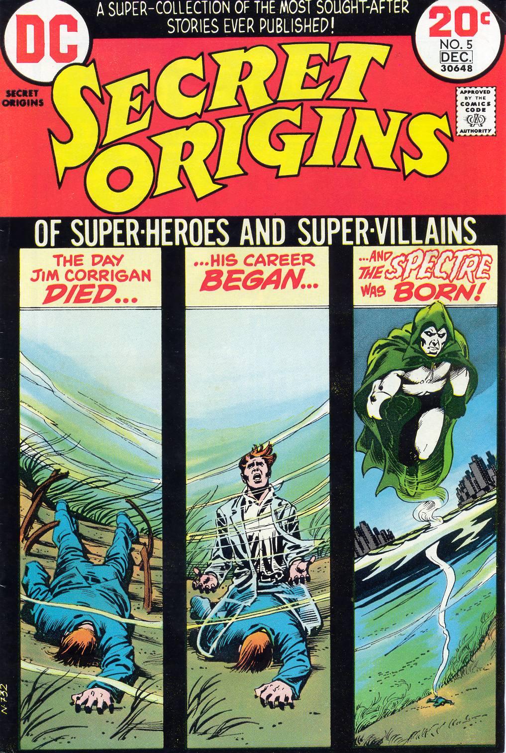 Read online Secret Origins (1973) comic -  Issue #5 - 1