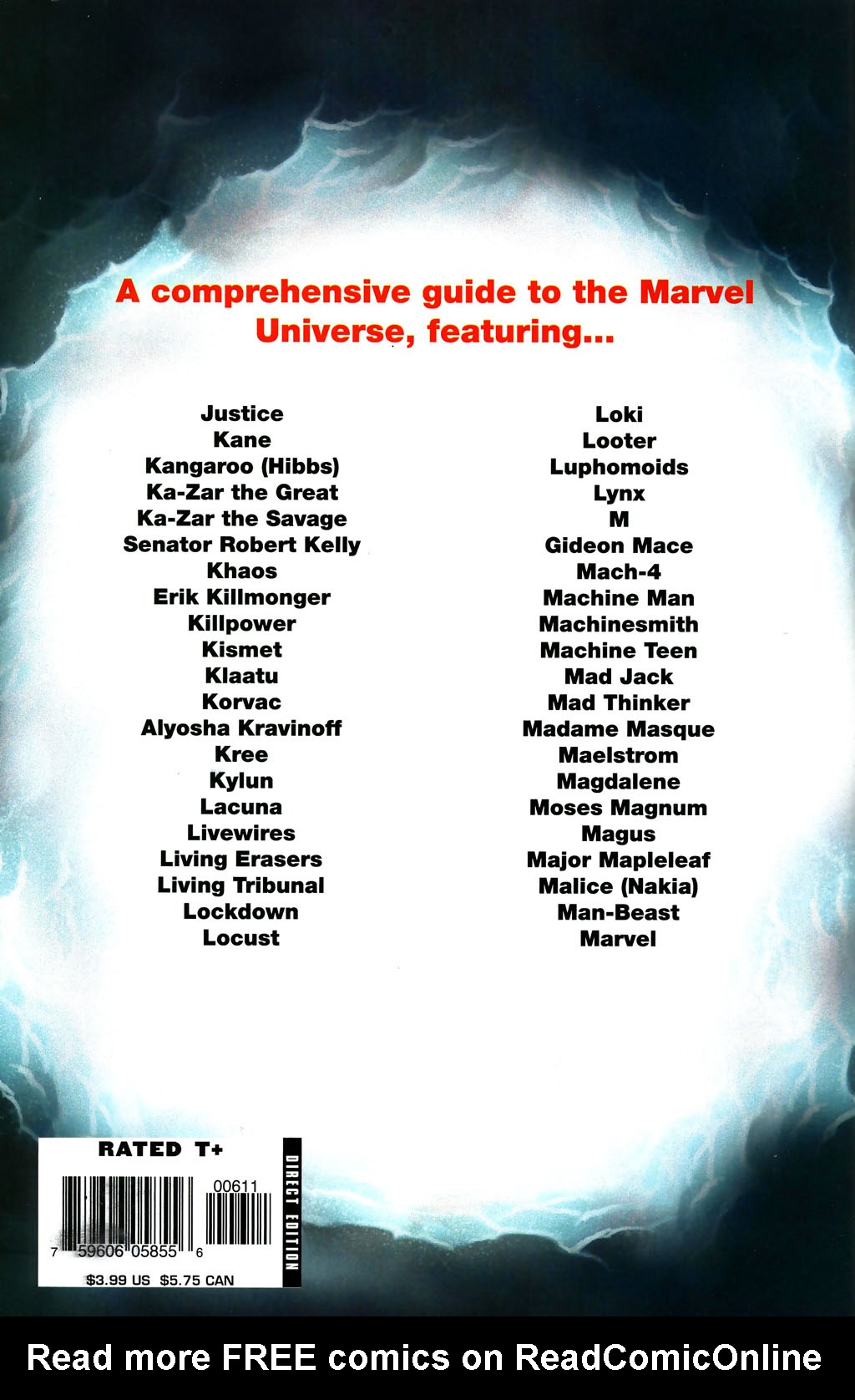 Read online All-New Official Handbook of the Marvel Universe A to Z comic -  Issue #6 - 67