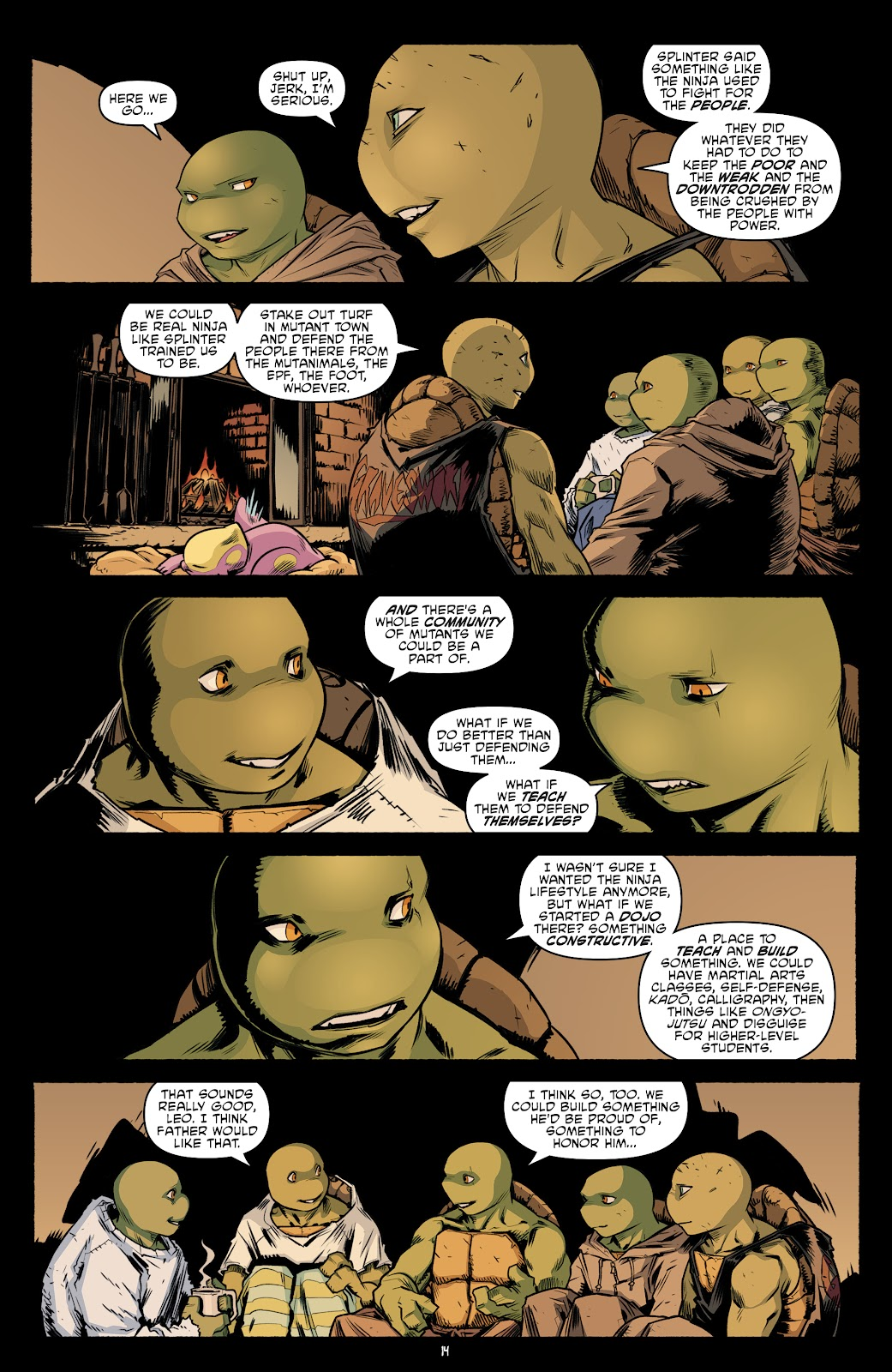 Read online Teenage Mutant Ninja Turtles (2011) comic -  Issue #104 - 16