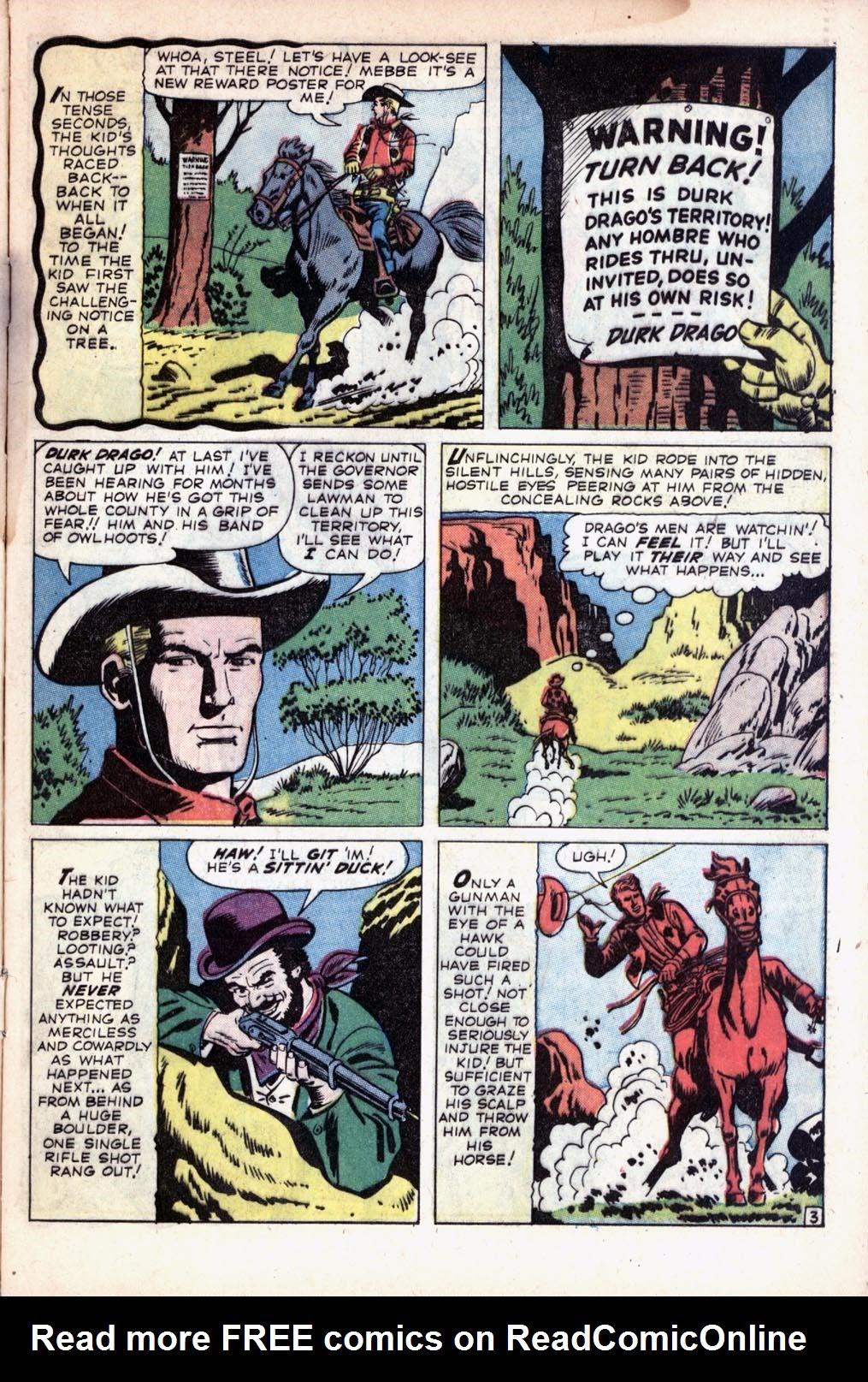 Gunsmoke Western 55 Page 5