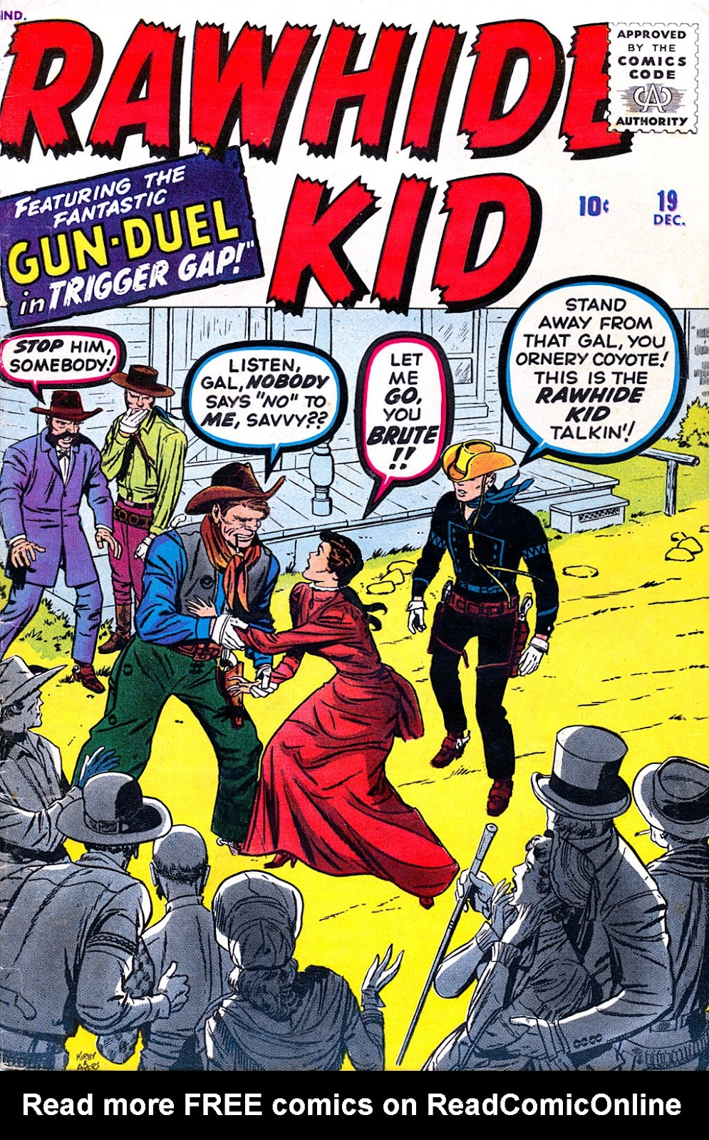 The Rawhide Kid (1955) issue 19 - Page 1