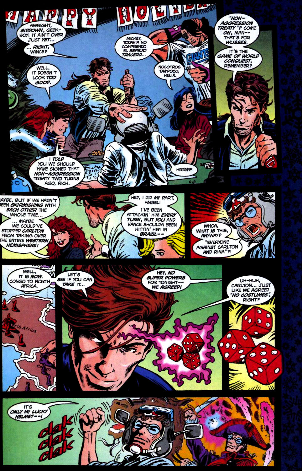 The New Warriors Issue #68 #72 - English 6